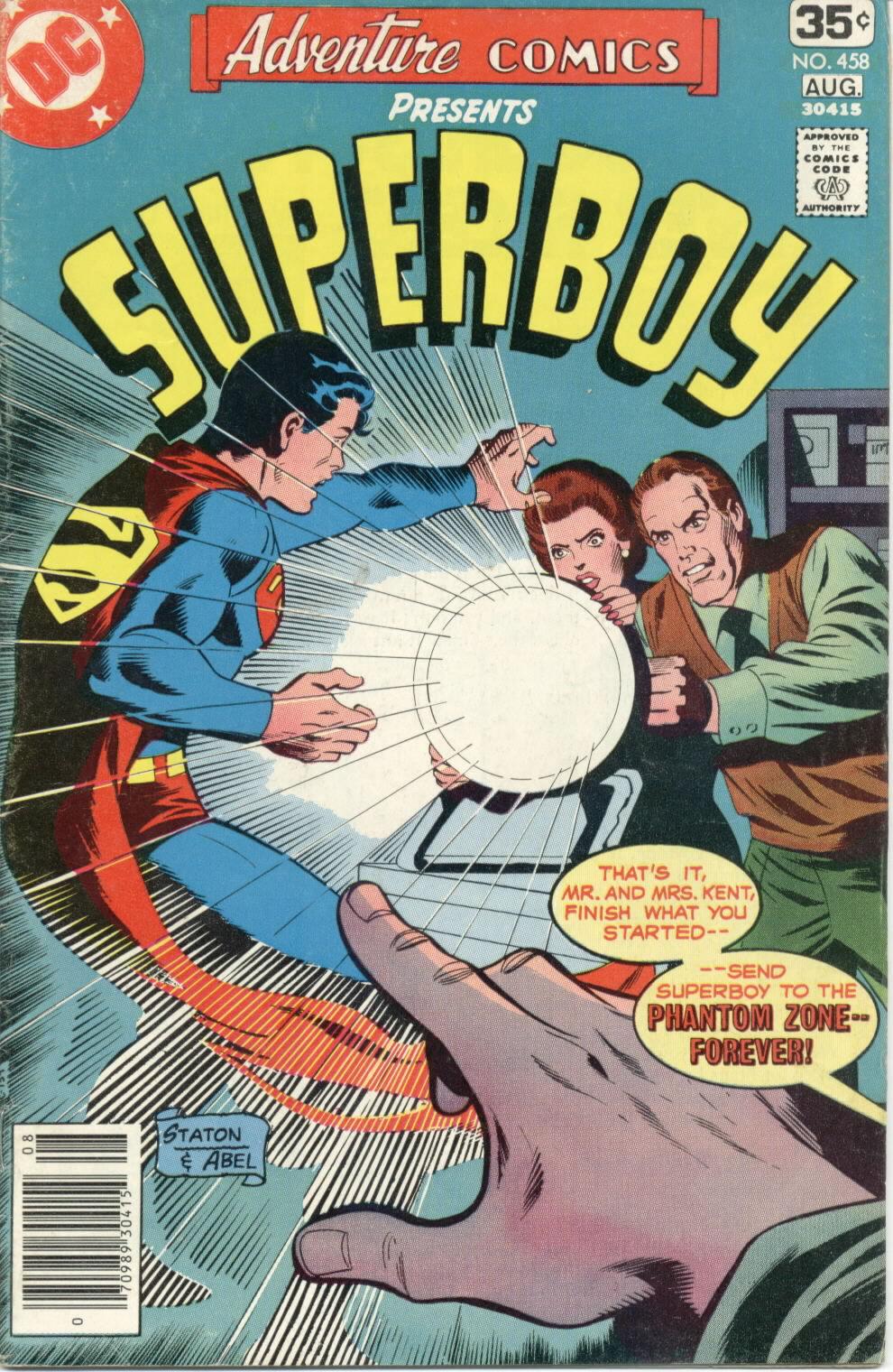 Read online Adventure Comics (1938) comic -  Issue #458 - 1