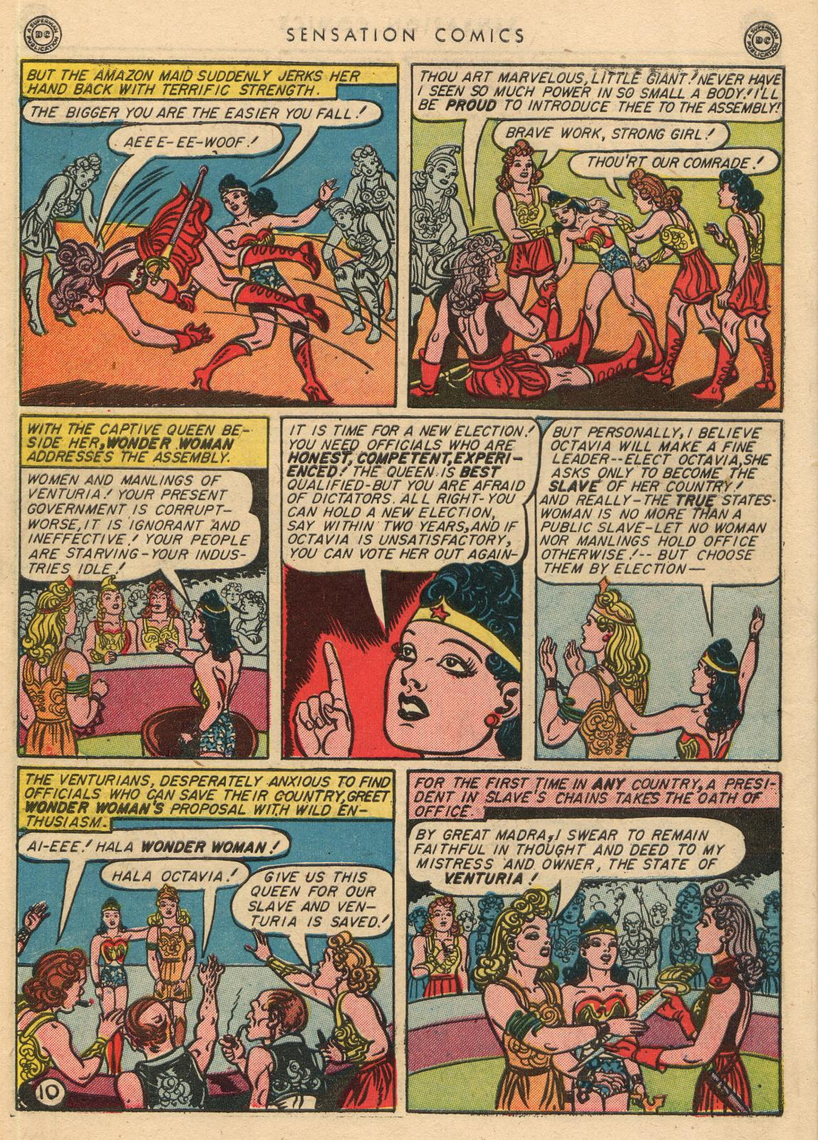 Read online Sensation (Mystery) Comics comic -  Issue #35 - 12