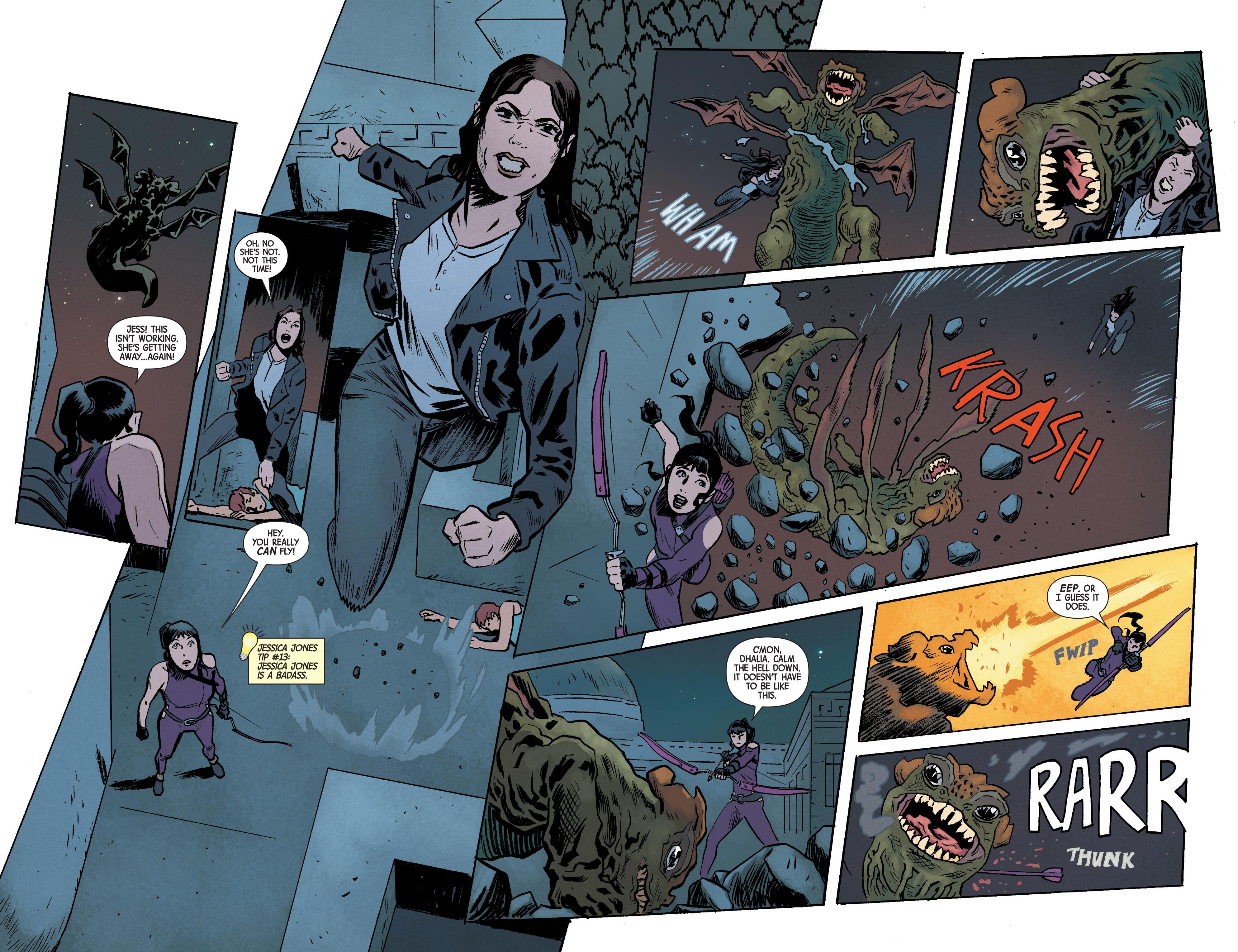 Read online Hawkeye (2016) comic -  Issue #6 - 14