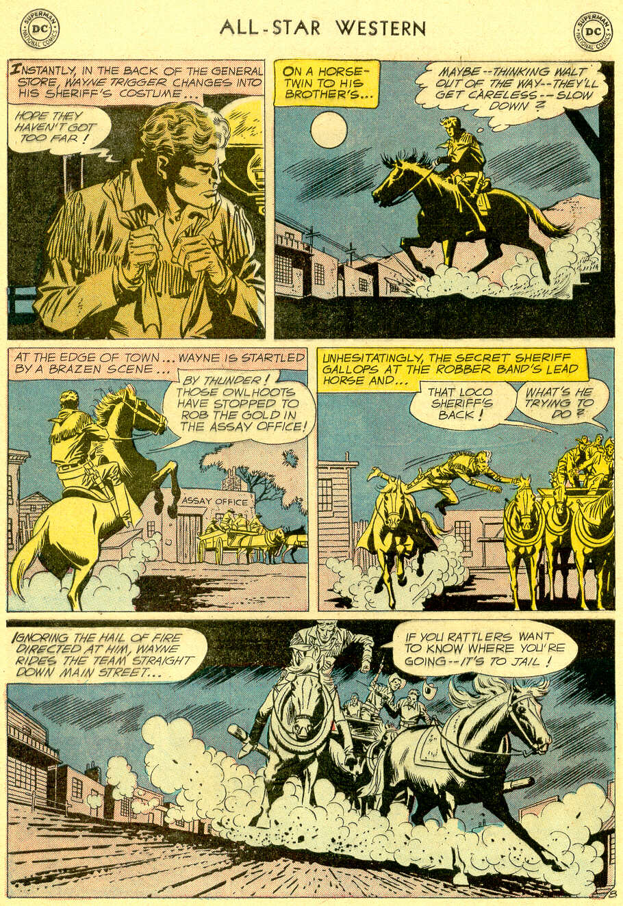 Read online All-Star Western (1951) comic -  Issue #103 - 10