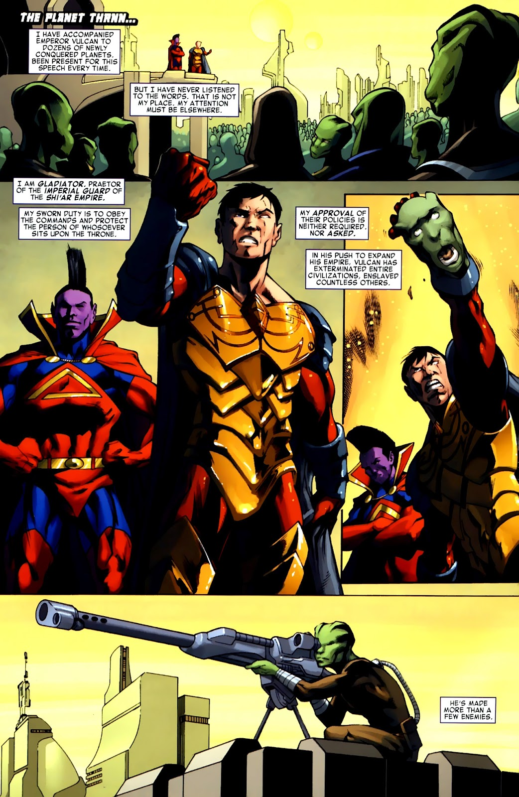 War of Kings: Warriors Issue #1 #1 - English 3
