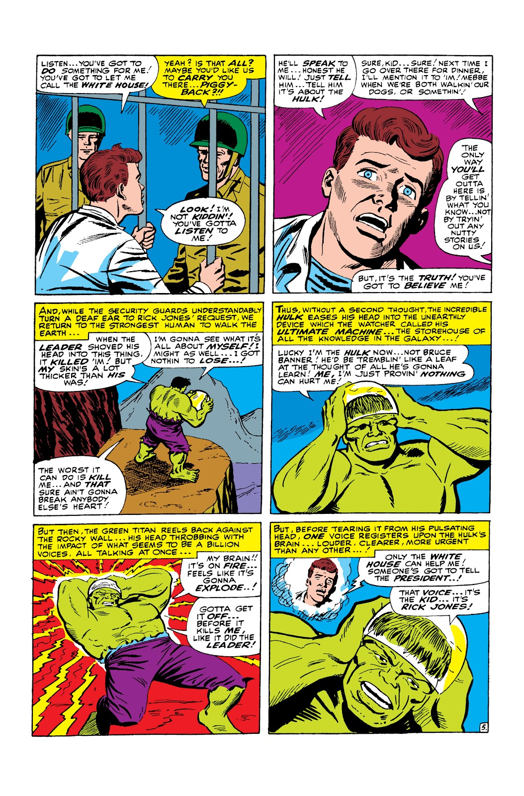 Read online Marvel Masterworks: The Incredible Hulk comic -  Issue # TPB 2 (Part 2) - 94