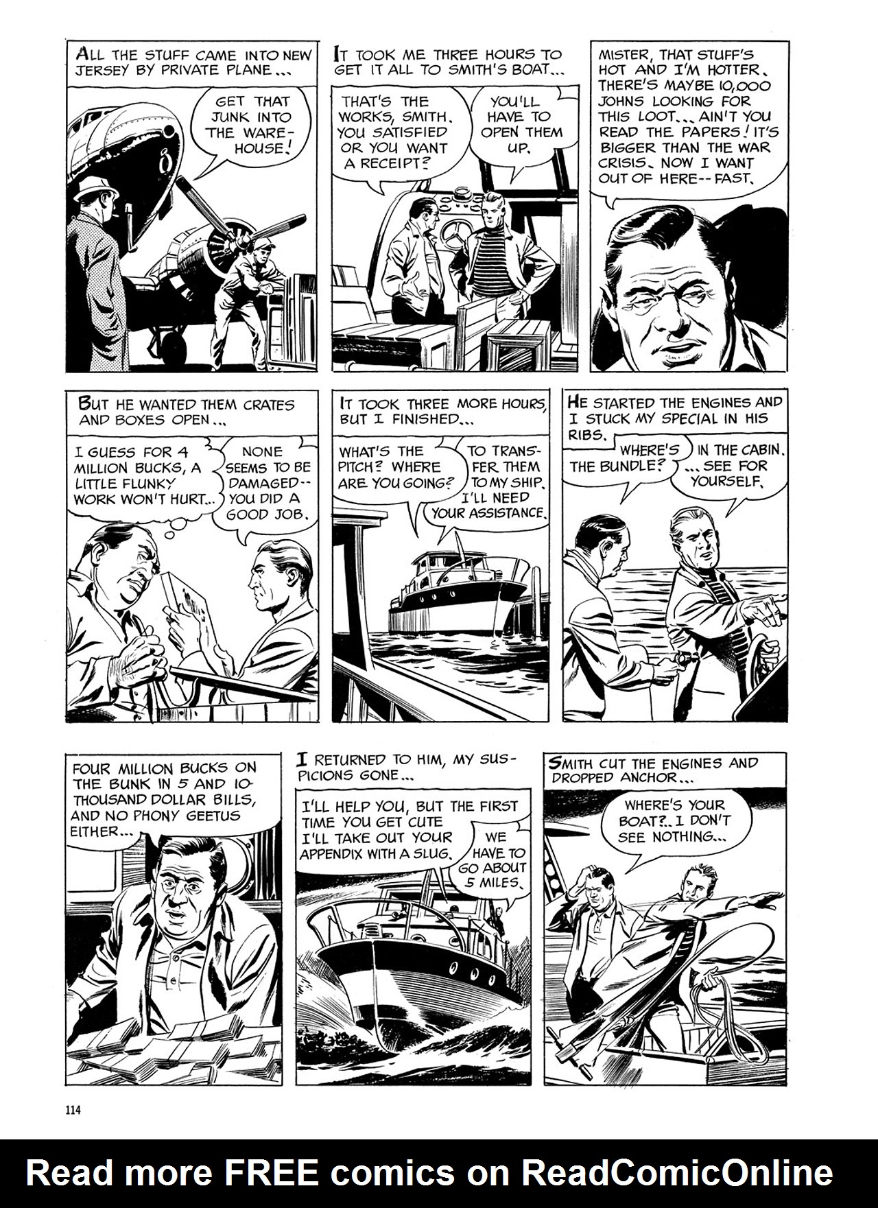 Read online Eerie Archives comic -  Issue # TPB 3 - 115
