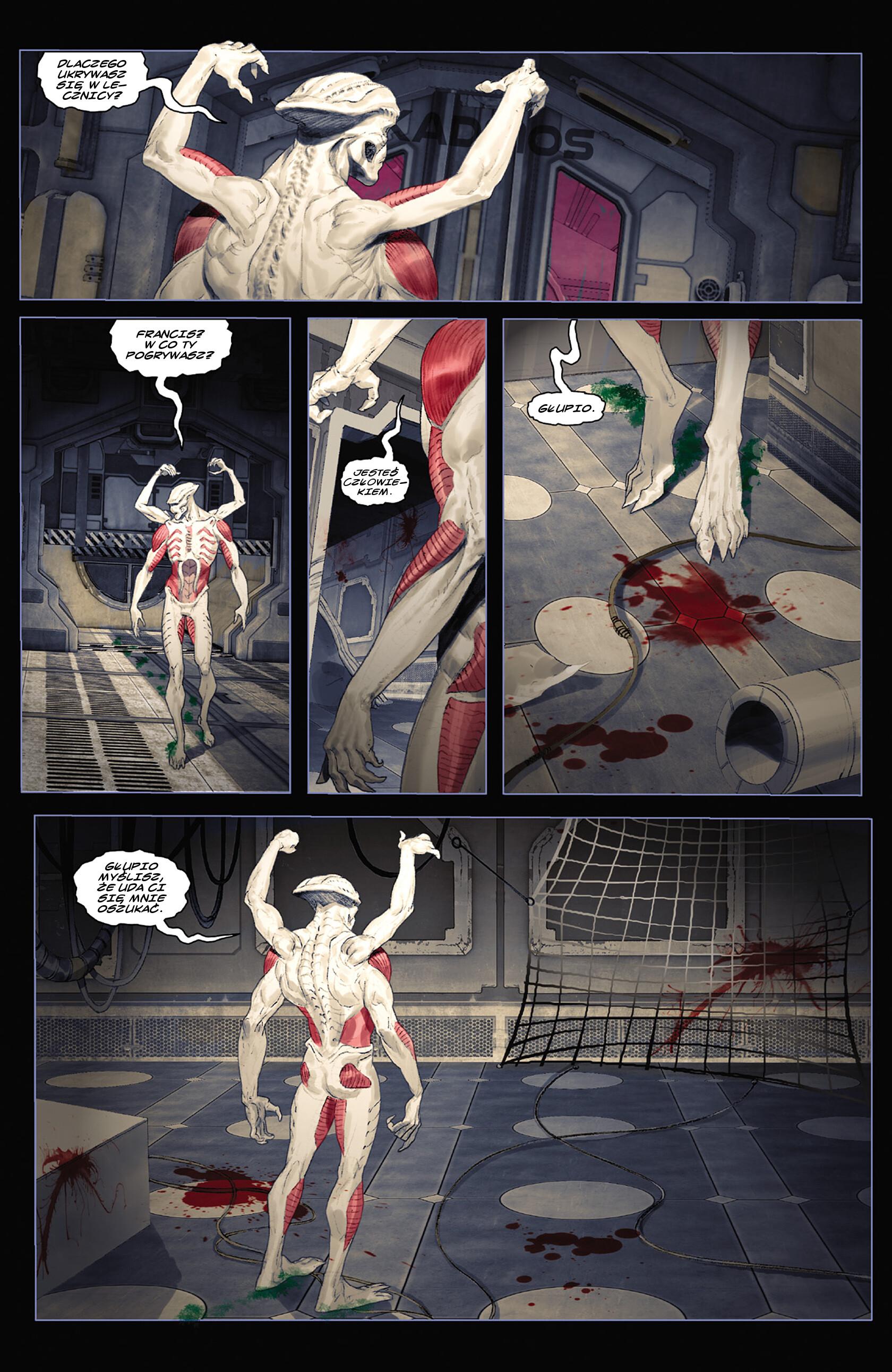 Read online Alien vs. Predator: Fire and Stone comic -  Issue #3 - 15