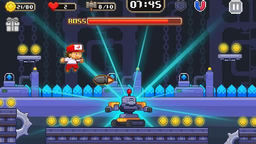 Super Jim Jump Pixel 3D Hack Cho Android