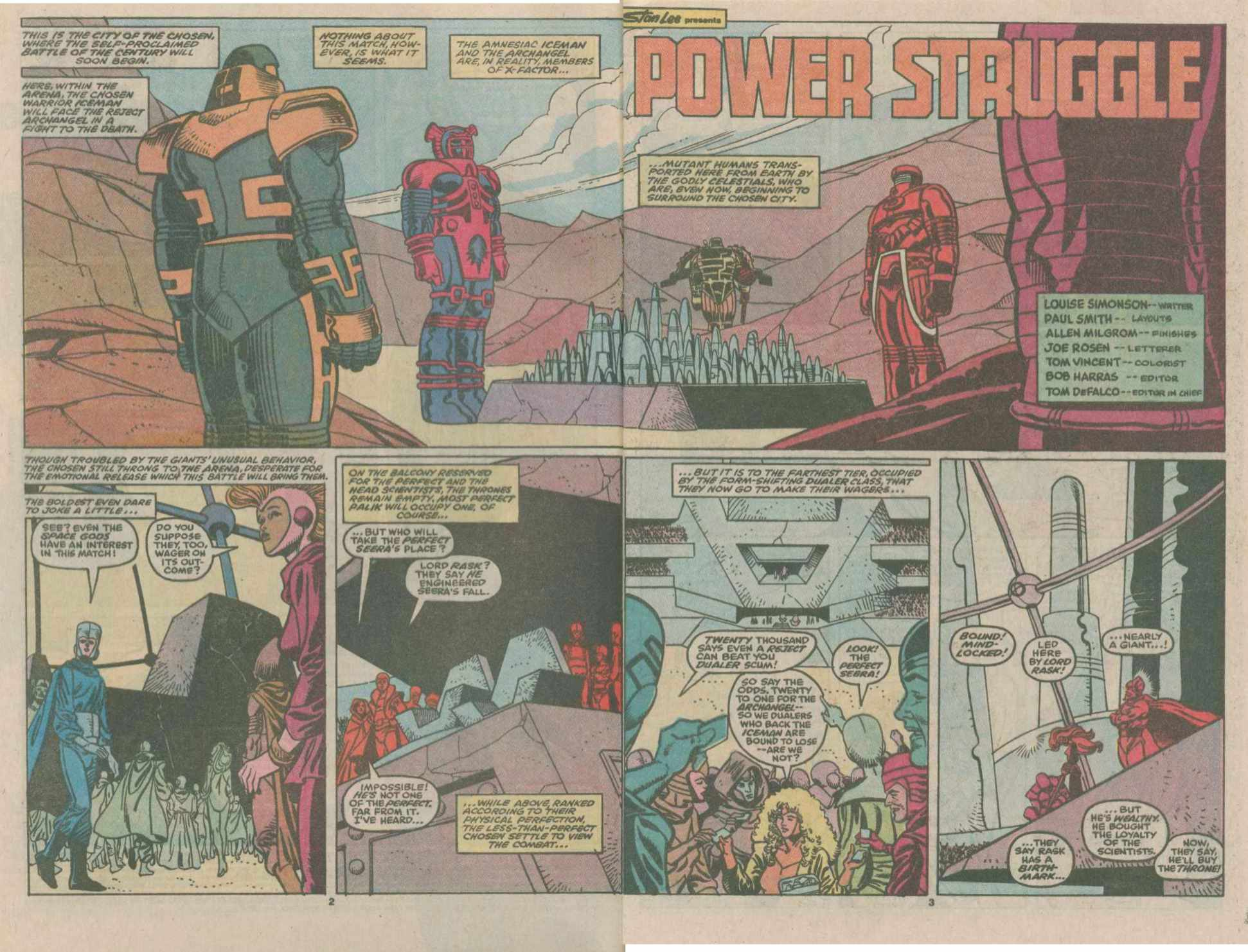 Read online X-Factor (1986) comic -  Issue #49 - 3