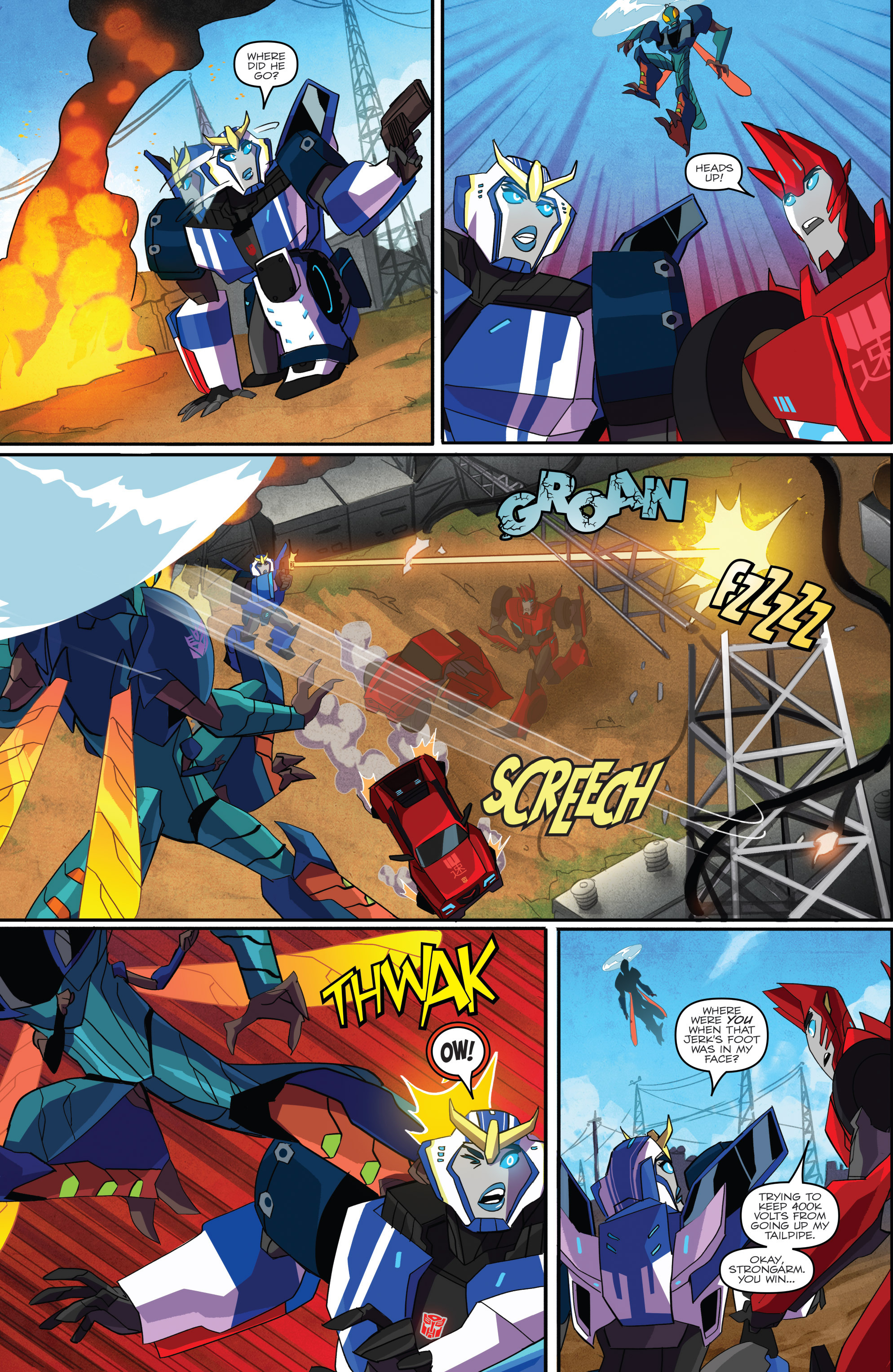 Read online Transformers: Robots In Disguise (2015) comic -  Issue #1 - 12
