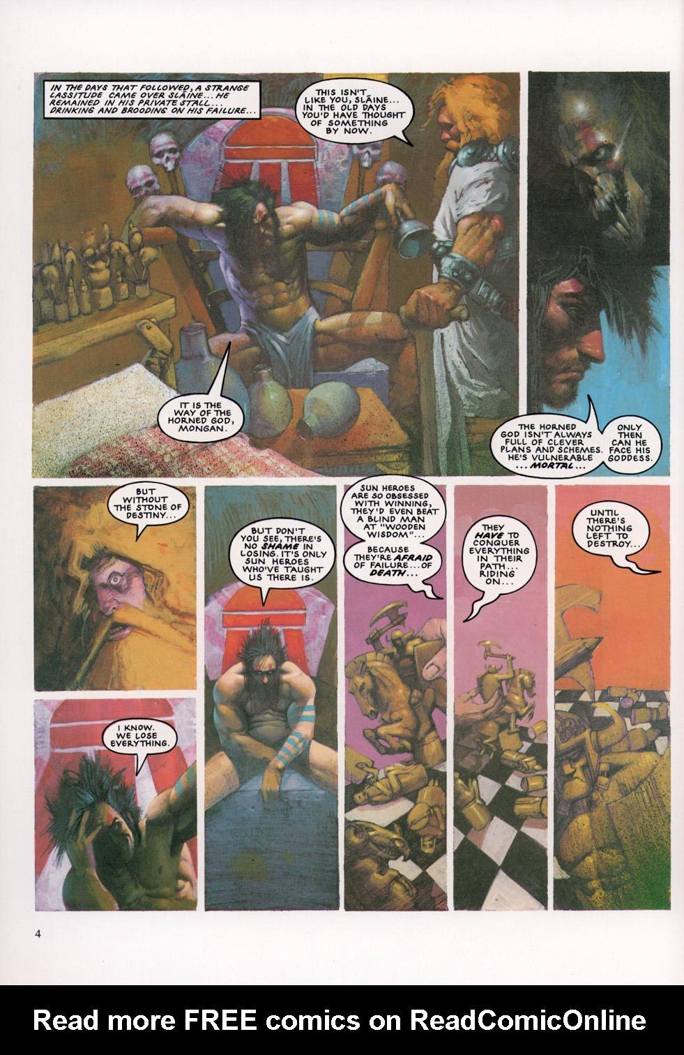 Read online Slaine: The Horned God (1993) comic -  Issue #4 - 5