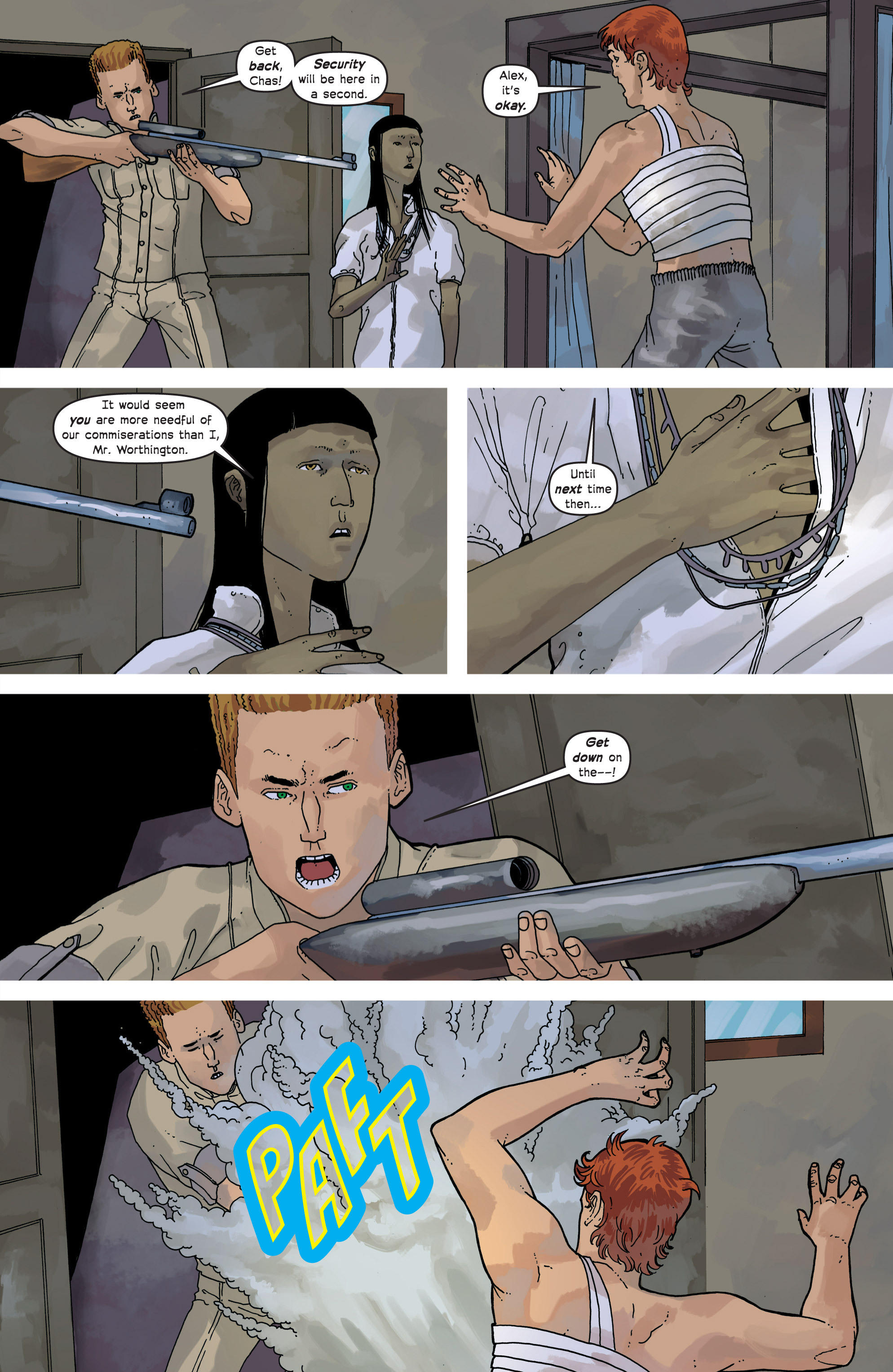 Read online Great Pacific comic -  Issue #8 - 19