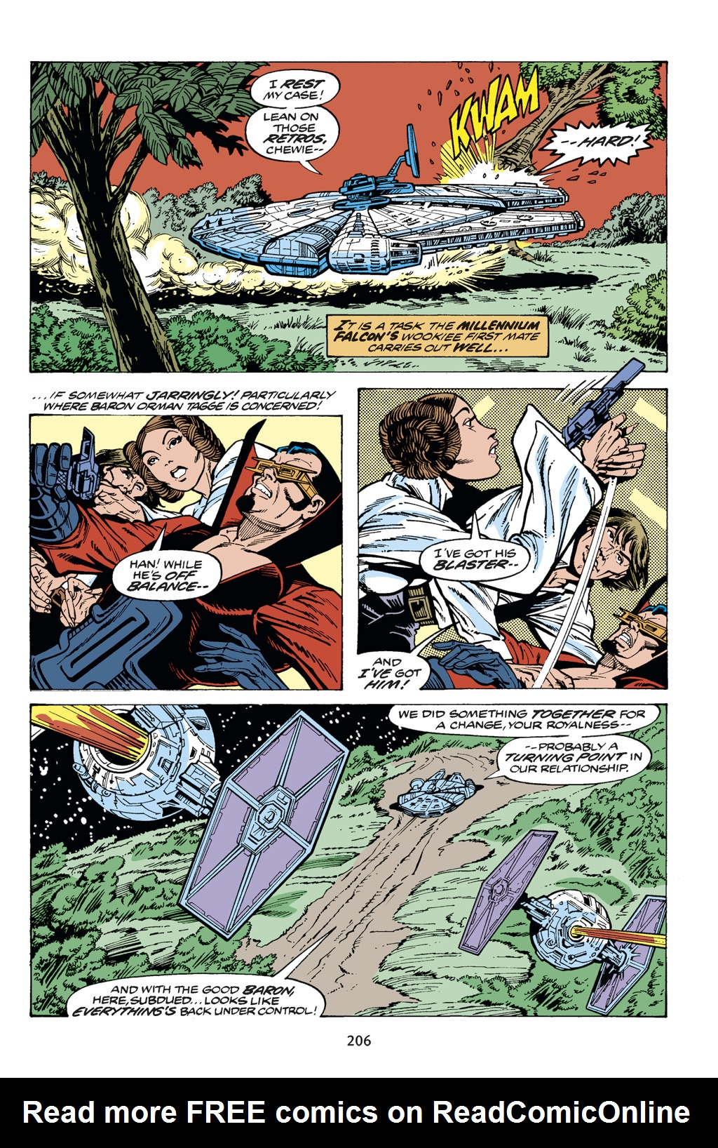 Read online Star Wars Omnibus comic -  Issue # Vol. 14 - 205