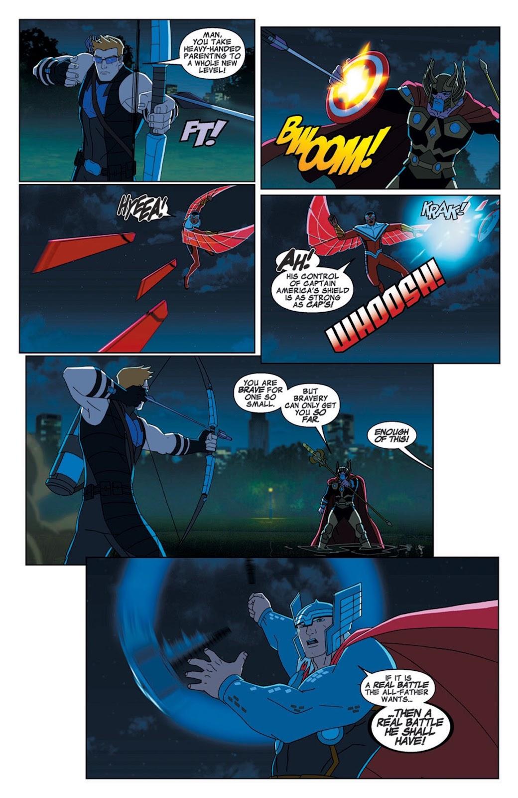 Read online Marvel Universe Avengers Assemble Season 2 comic -  Issue #7 - 10