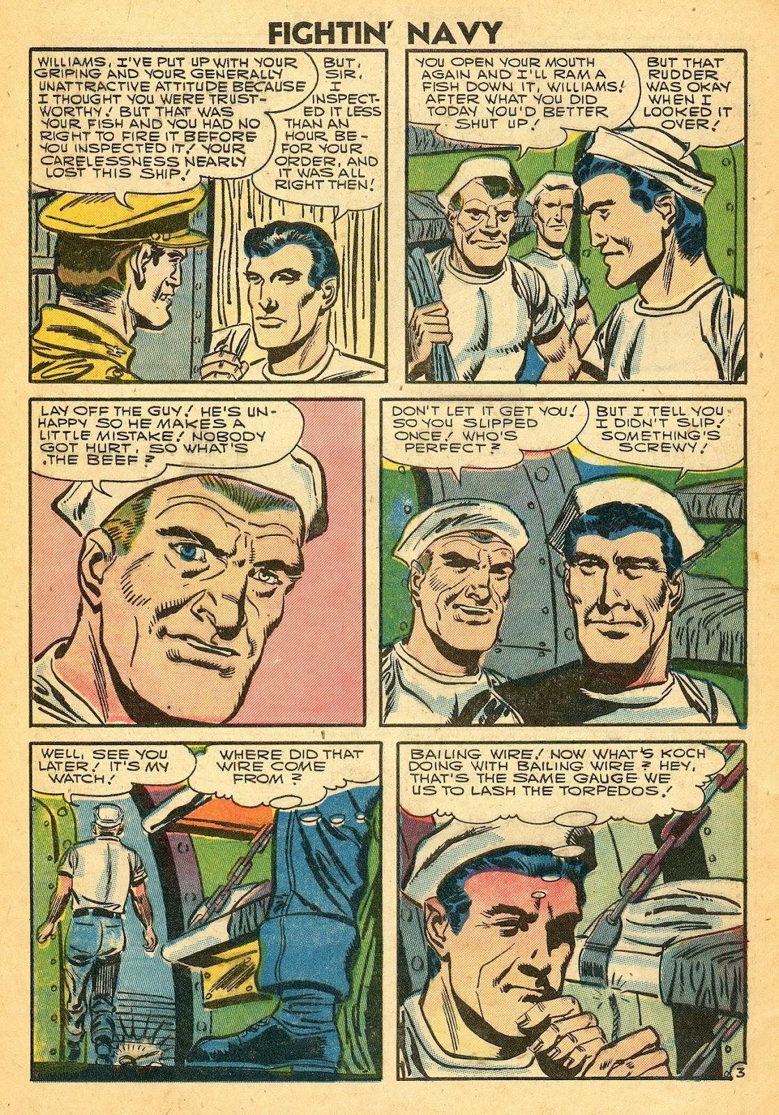 Read online Fightin' Navy comic -  Issue #77 - 28