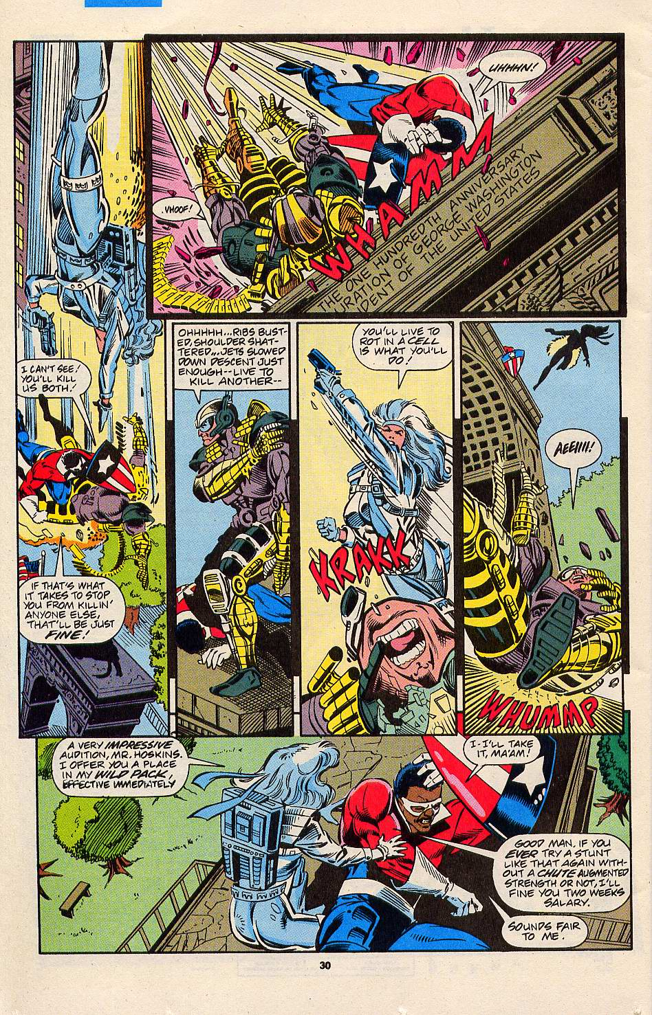 Read online Silver Sable and the Wild Pack comic -  Issue #3 - 23
