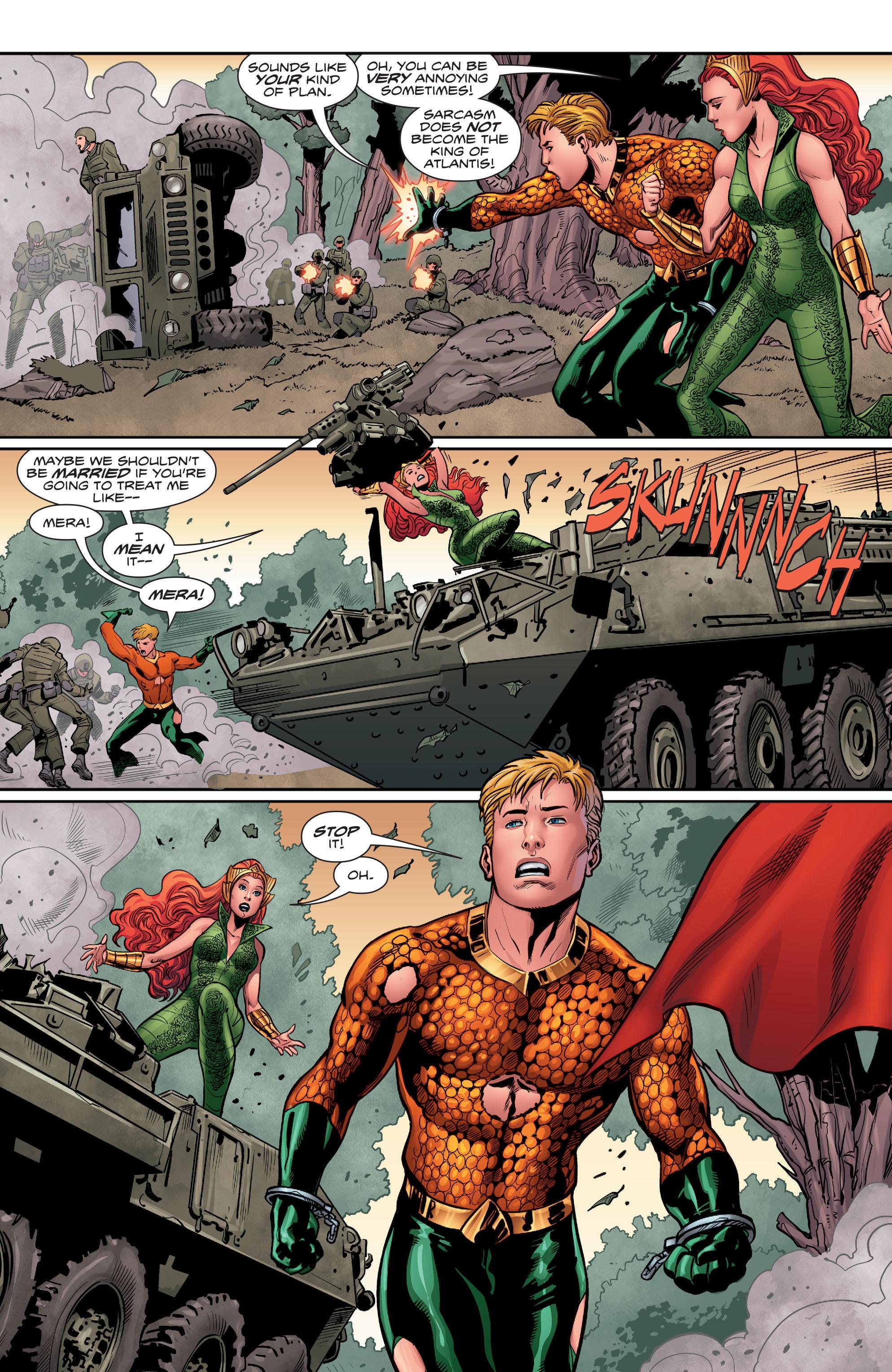 Read online Aquaman (2016) comic -  Issue #5 - 21