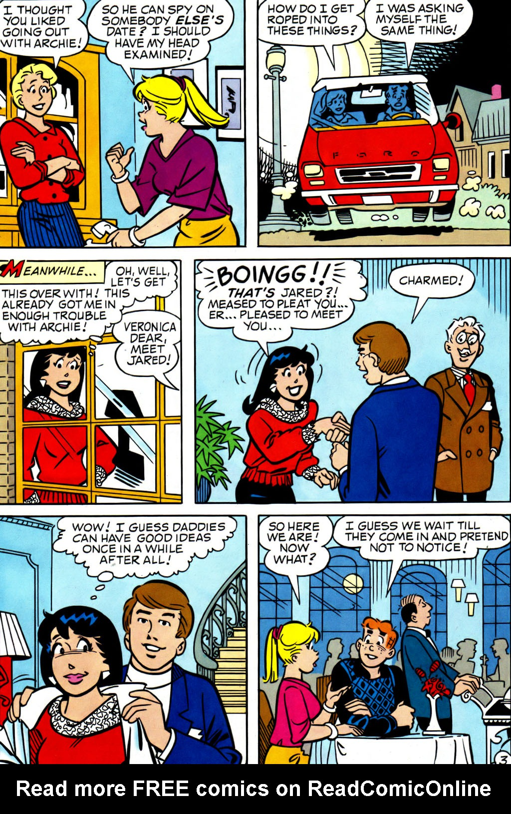 Read online Archie (1960) comic -  Issue #562 - 4