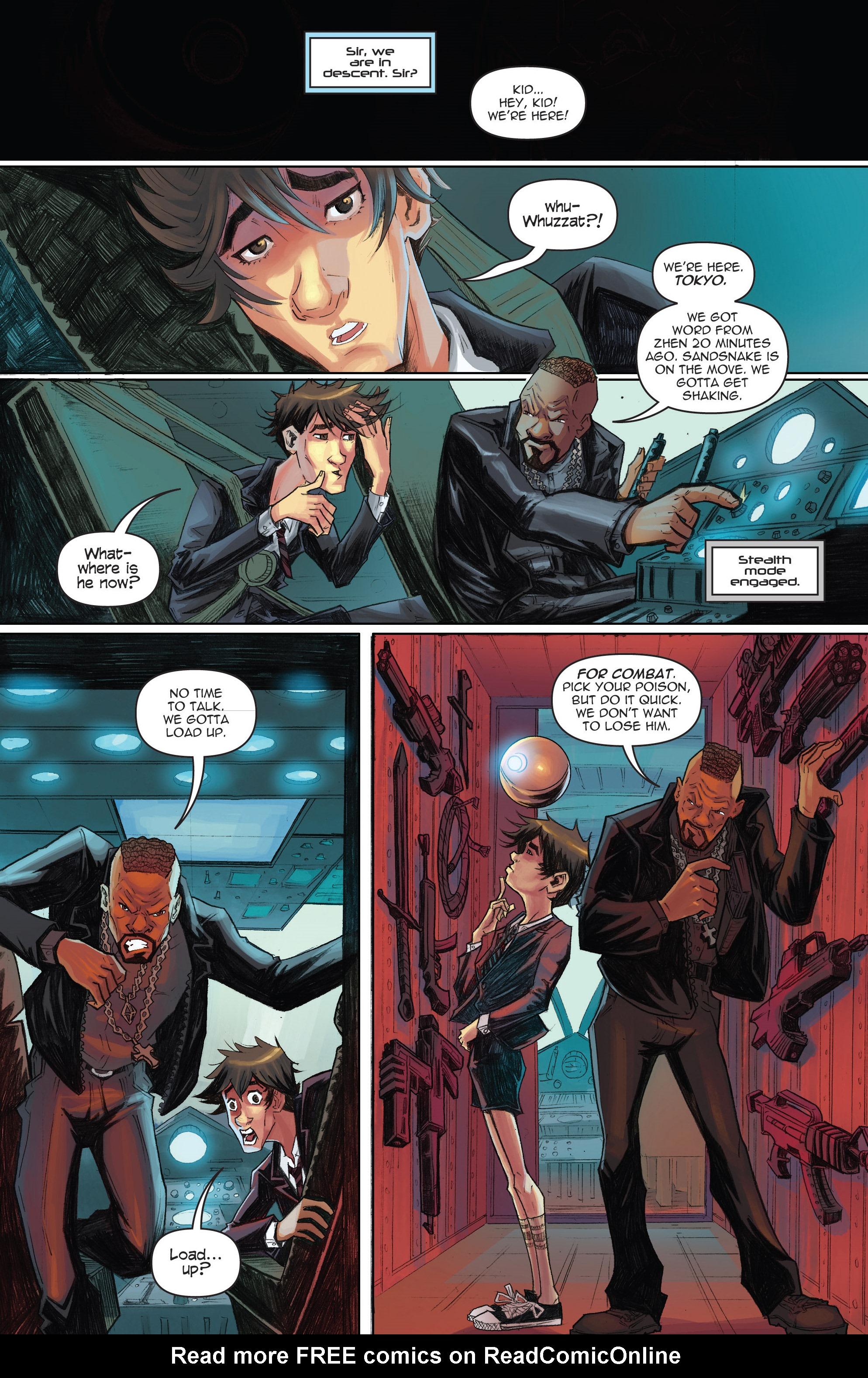 Read online Infinite Seven comic -  Issue #3 - 14