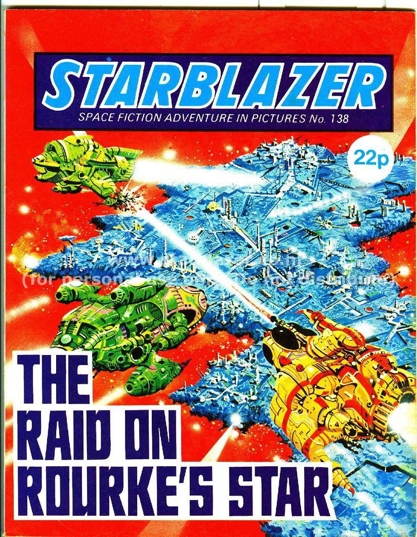 Starblazer issue 138 - Page 1