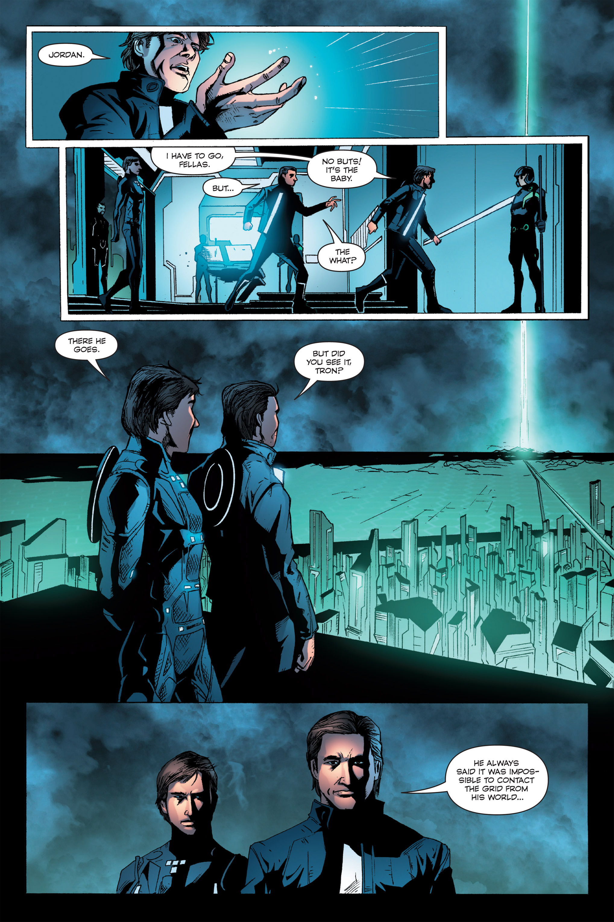 Read online TRON: Betrayal comic -  Issue # TPB - 58