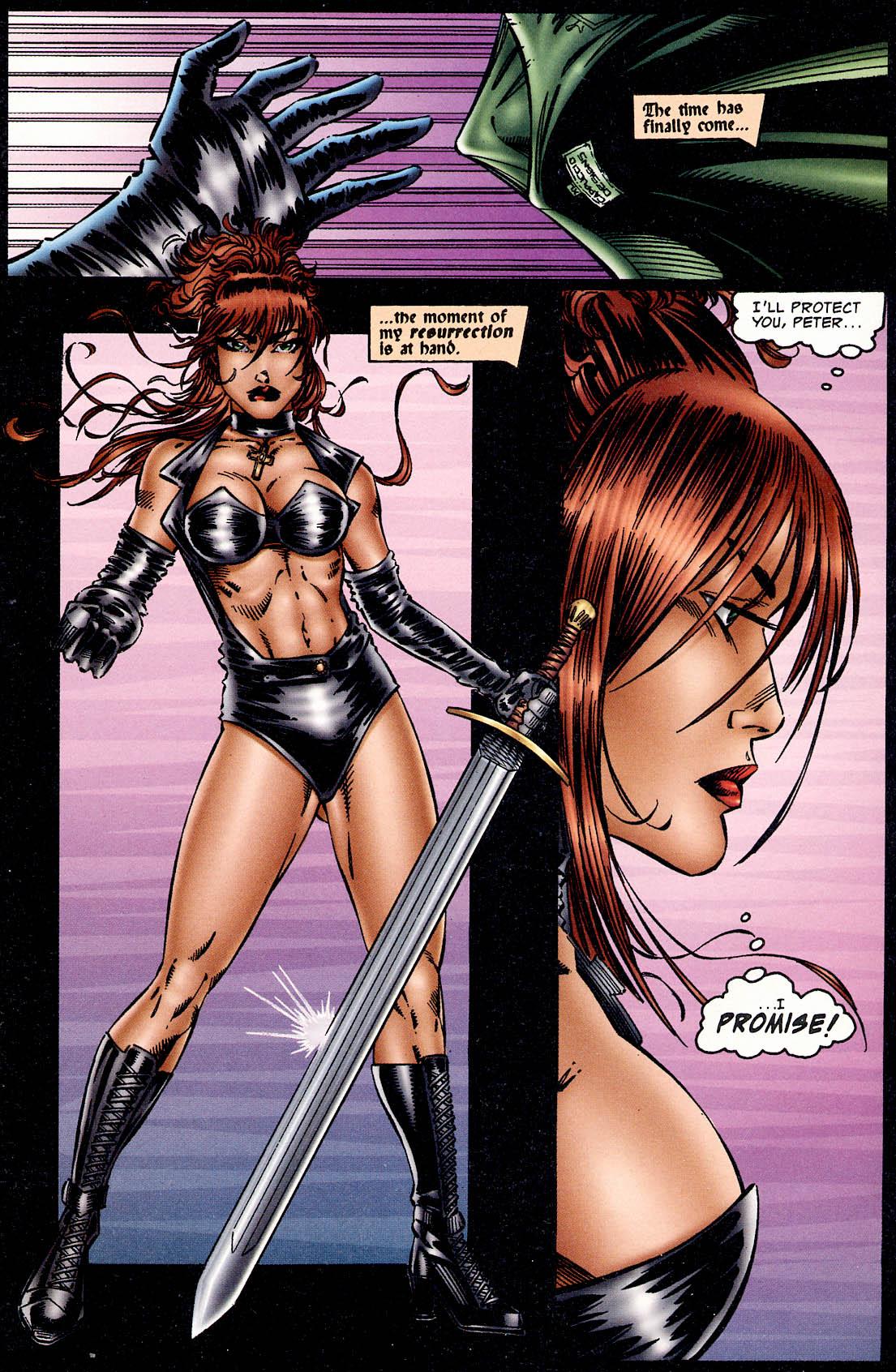 Read online Avengelyne (1995) comic -  Issue #2 - 19
