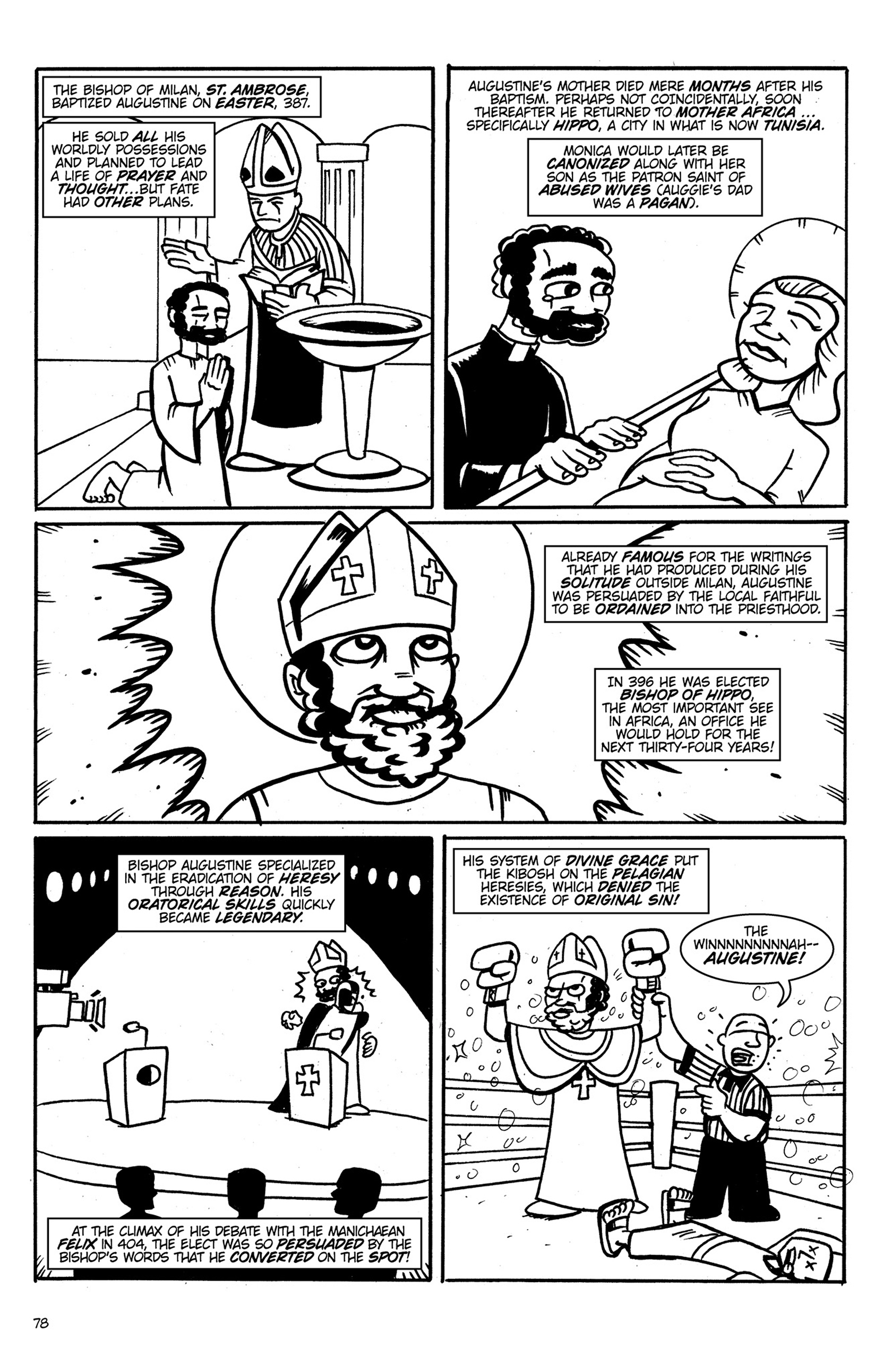 Read online Action Philosophers! comic -  Issue #Action Philosophers! TPB (Part 1) - 78
