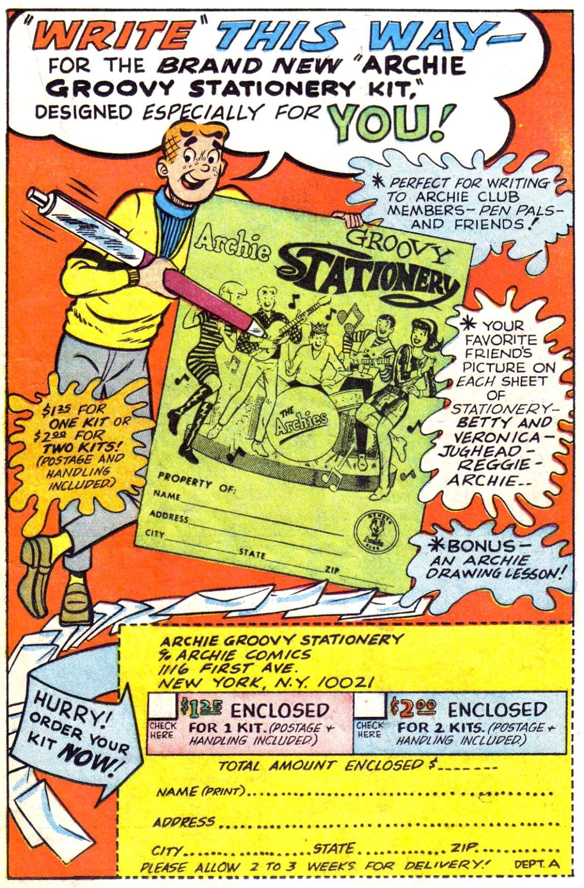 Read online Archie (1960) comic -  Issue #182 - 19