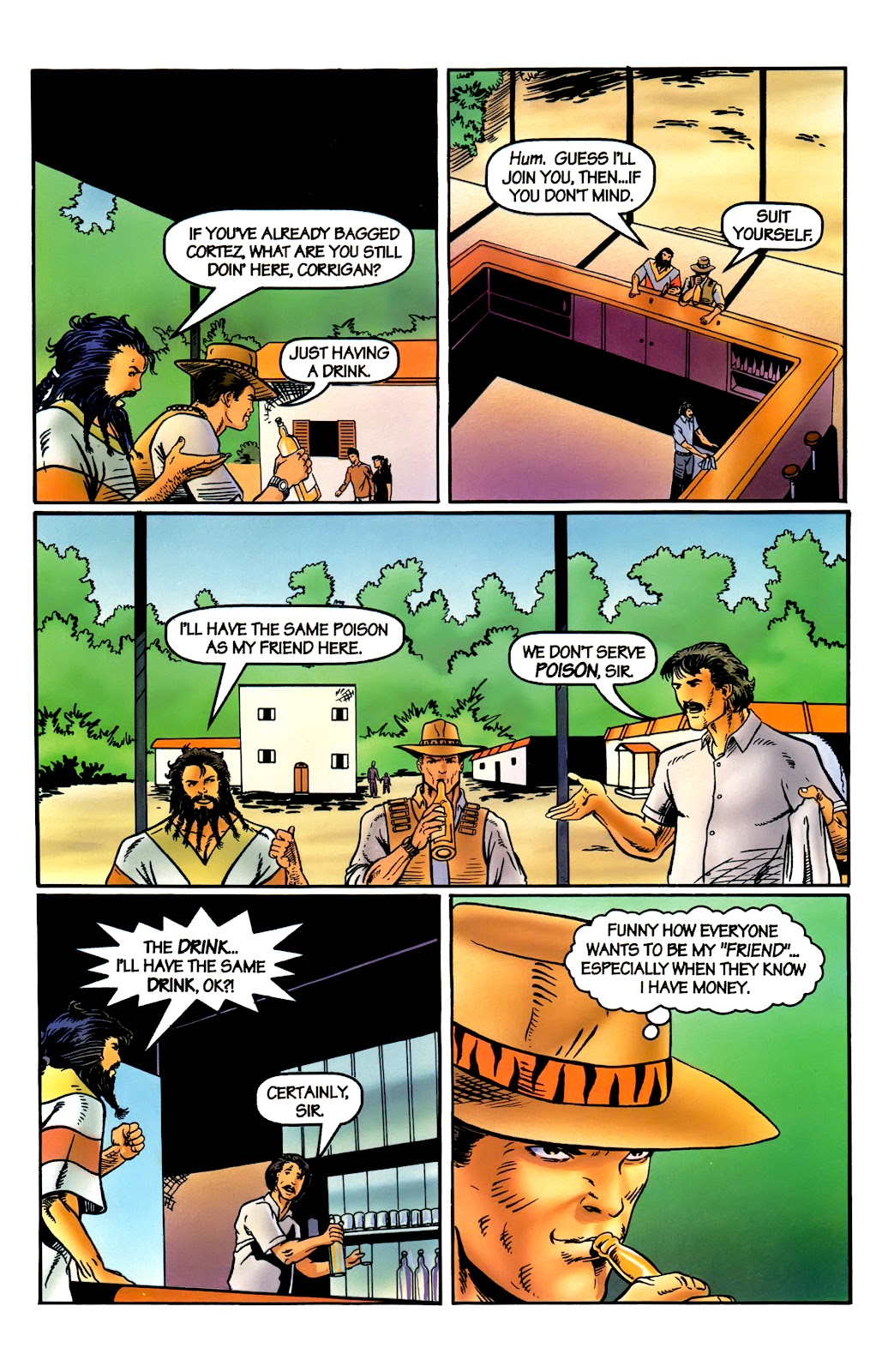 Read online Perg comic -  Issue #5 - 14