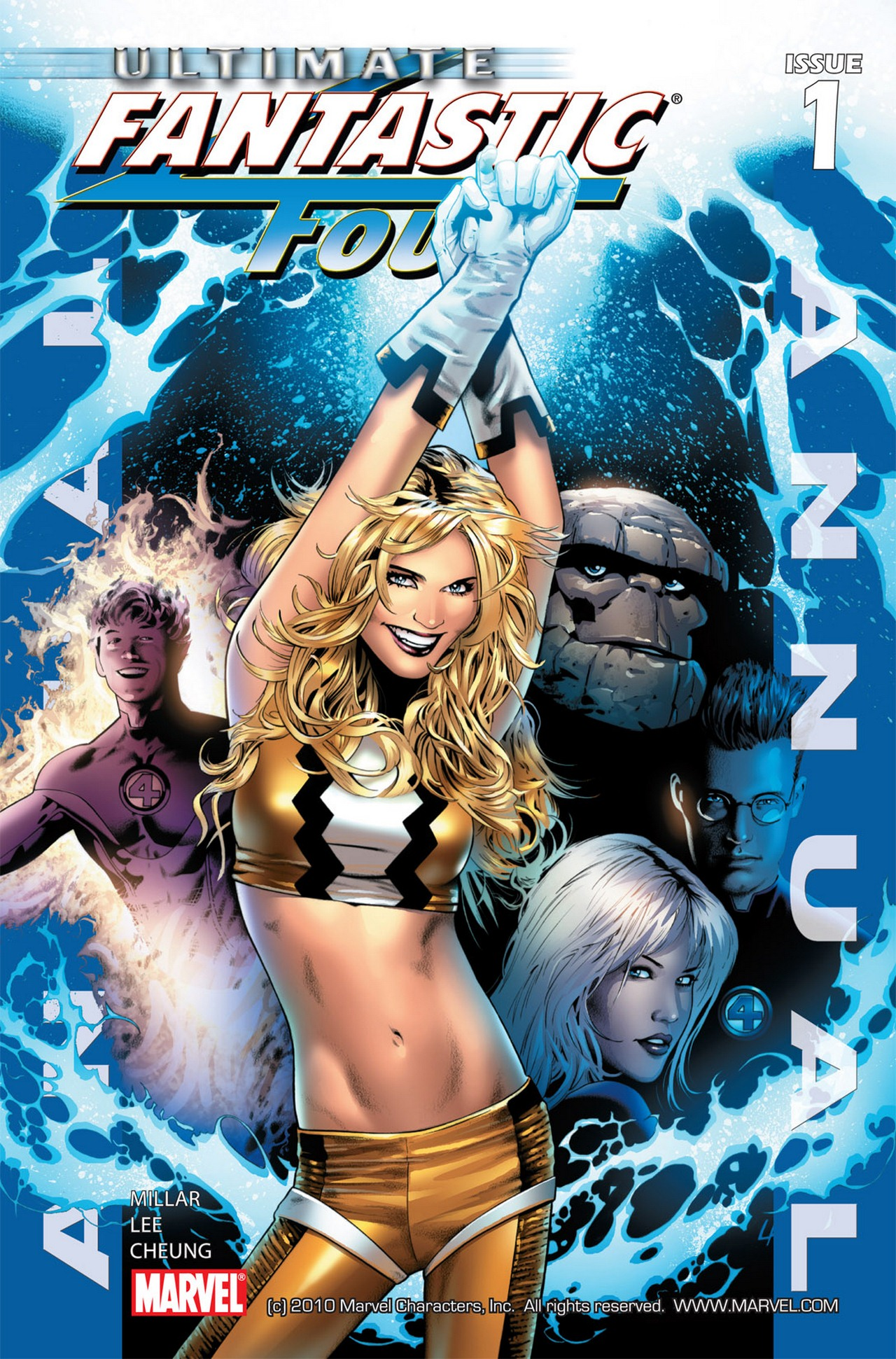 Read online Ultimate Fantastic Four (2004) comic -  Issue # _Annual 1 - 1