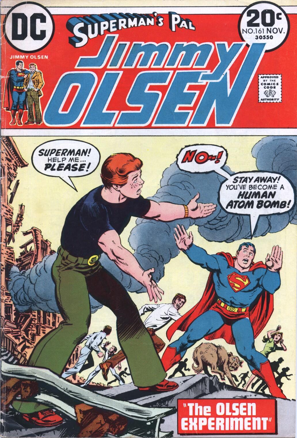 Supermans Pal Jimmy Olsen (1954) 161 Page 1