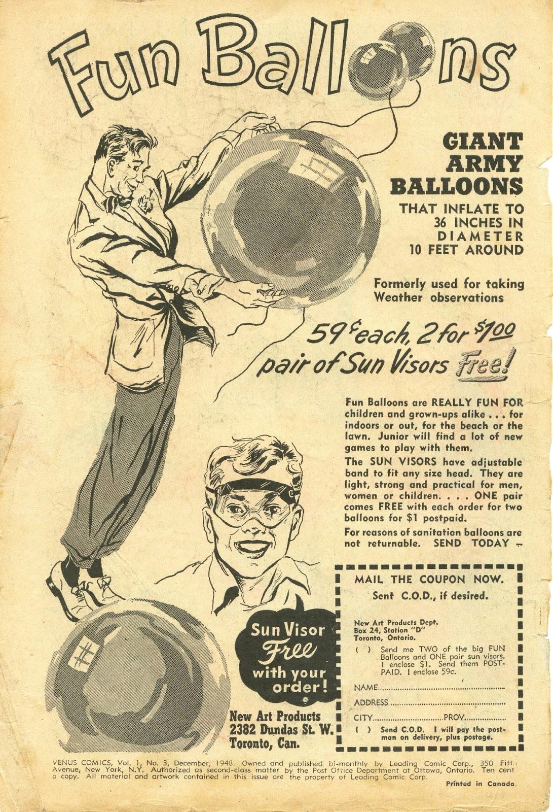 Venus (1948) issue 3 - Page 4