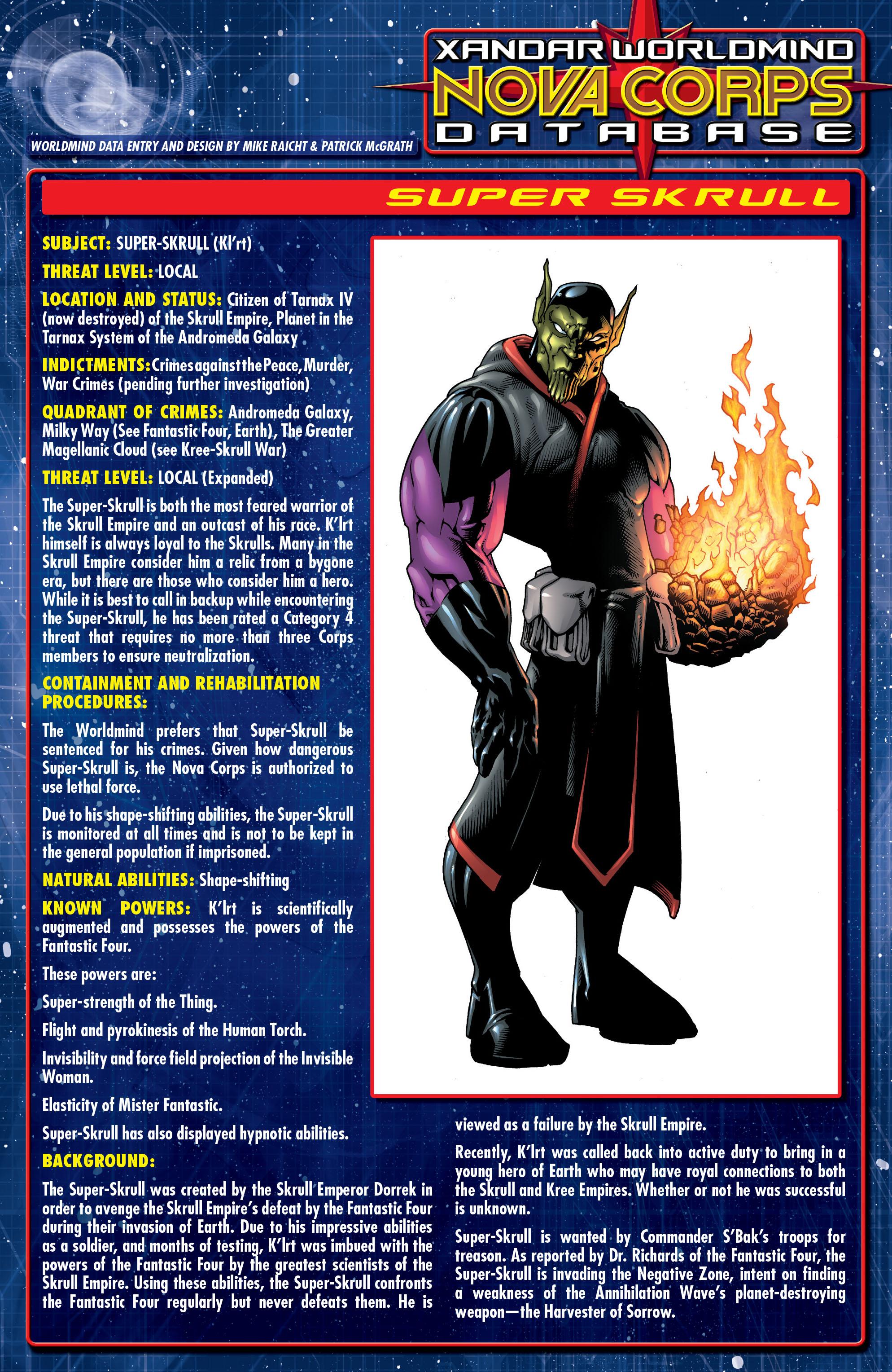 Read online Annihilation: Super-Skrull comic -  Issue #1 - 27