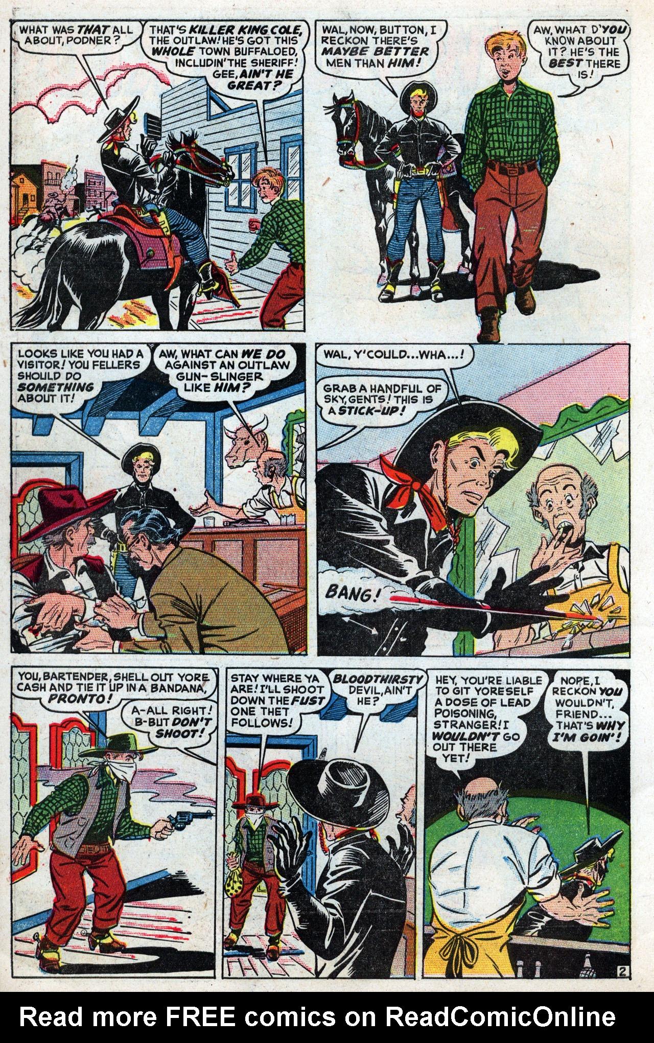 Read online Two-Gun Kid comic -  Issue #3 - 4