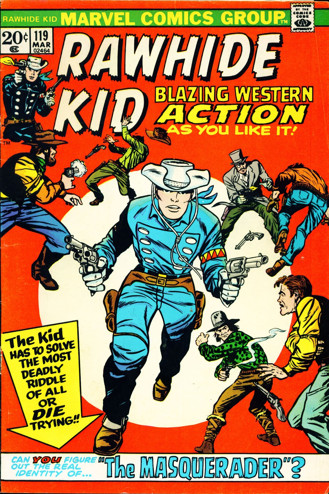 The Rawhide Kid (1955) issue 119 - Page 1