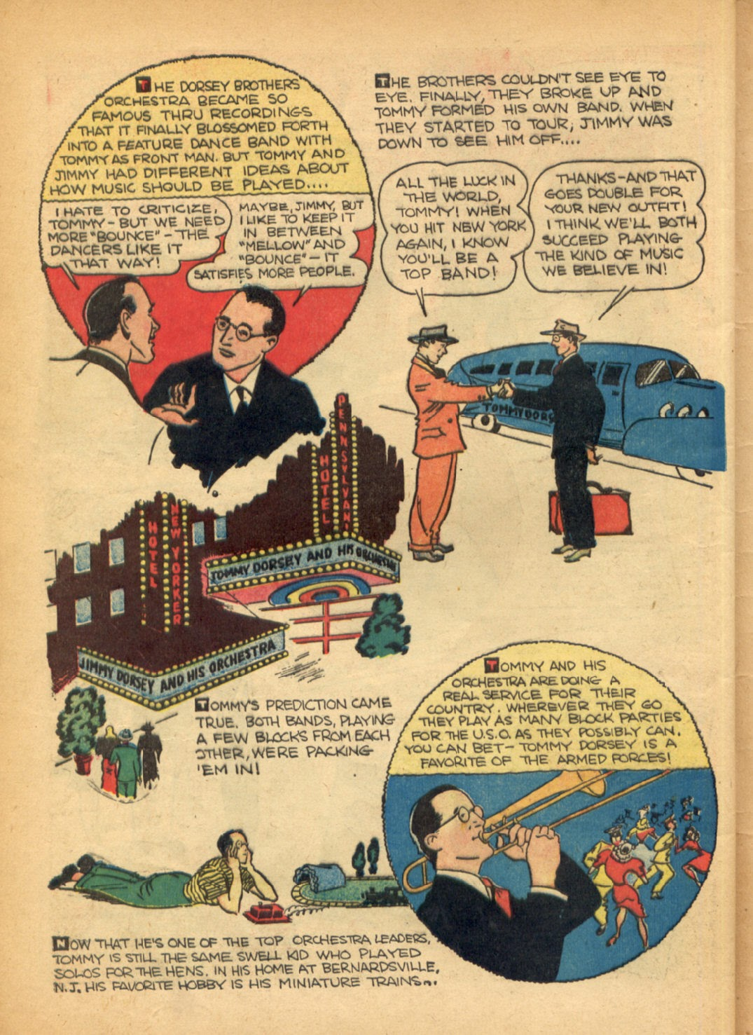Read online Super-Magician Comics comic -  Issue #6 - 59
