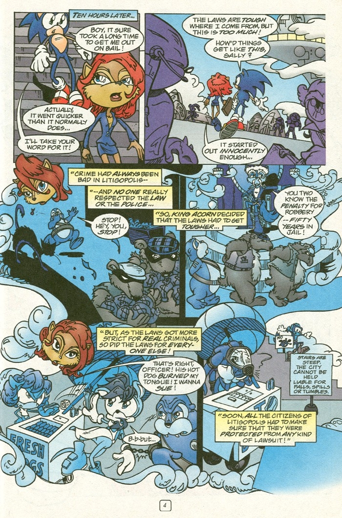 Read online Sonic Super Special comic -  Issue #14 - best of times - 6