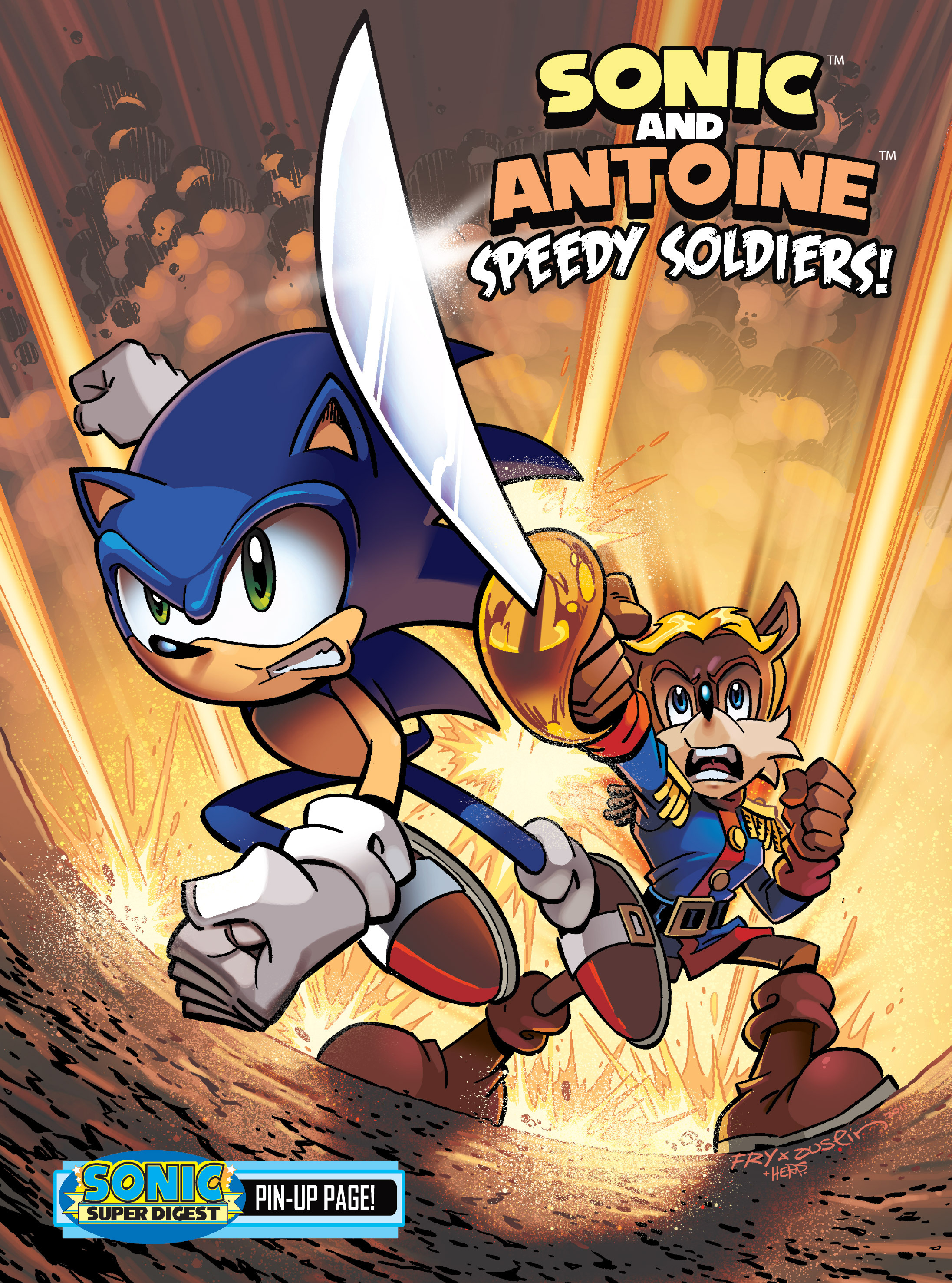 Read online Sonic Super Digest comic -  Issue #8 - 7
