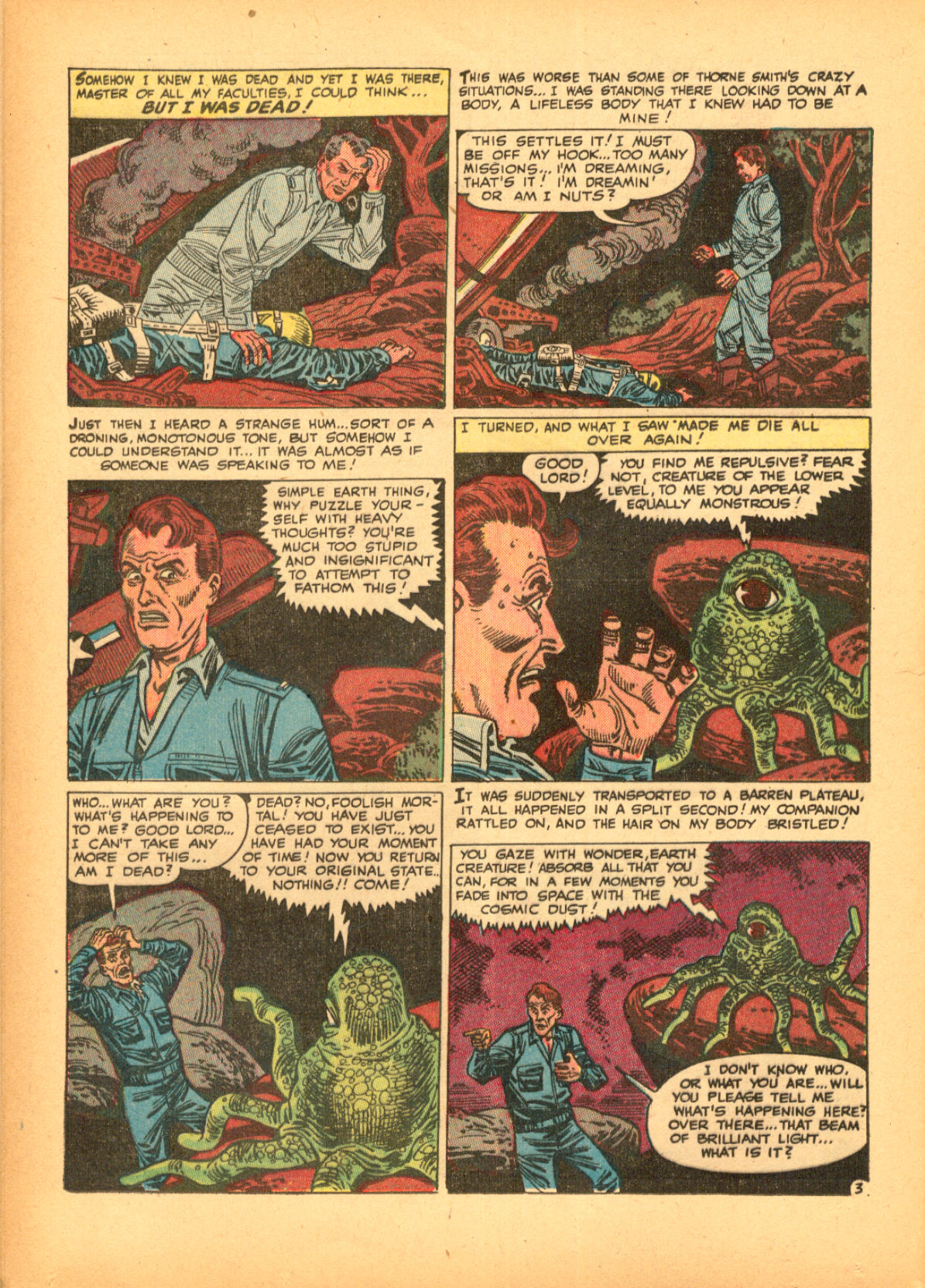 Read online Adventures into Weird Worlds comic -  Issue #3 - 12