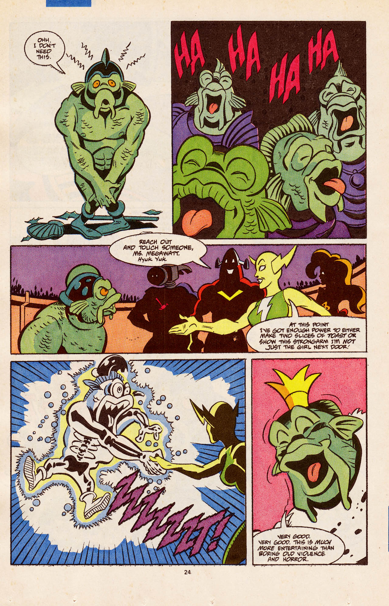Read online Defenders of Dynatron City comic -  Issue #4 - 25