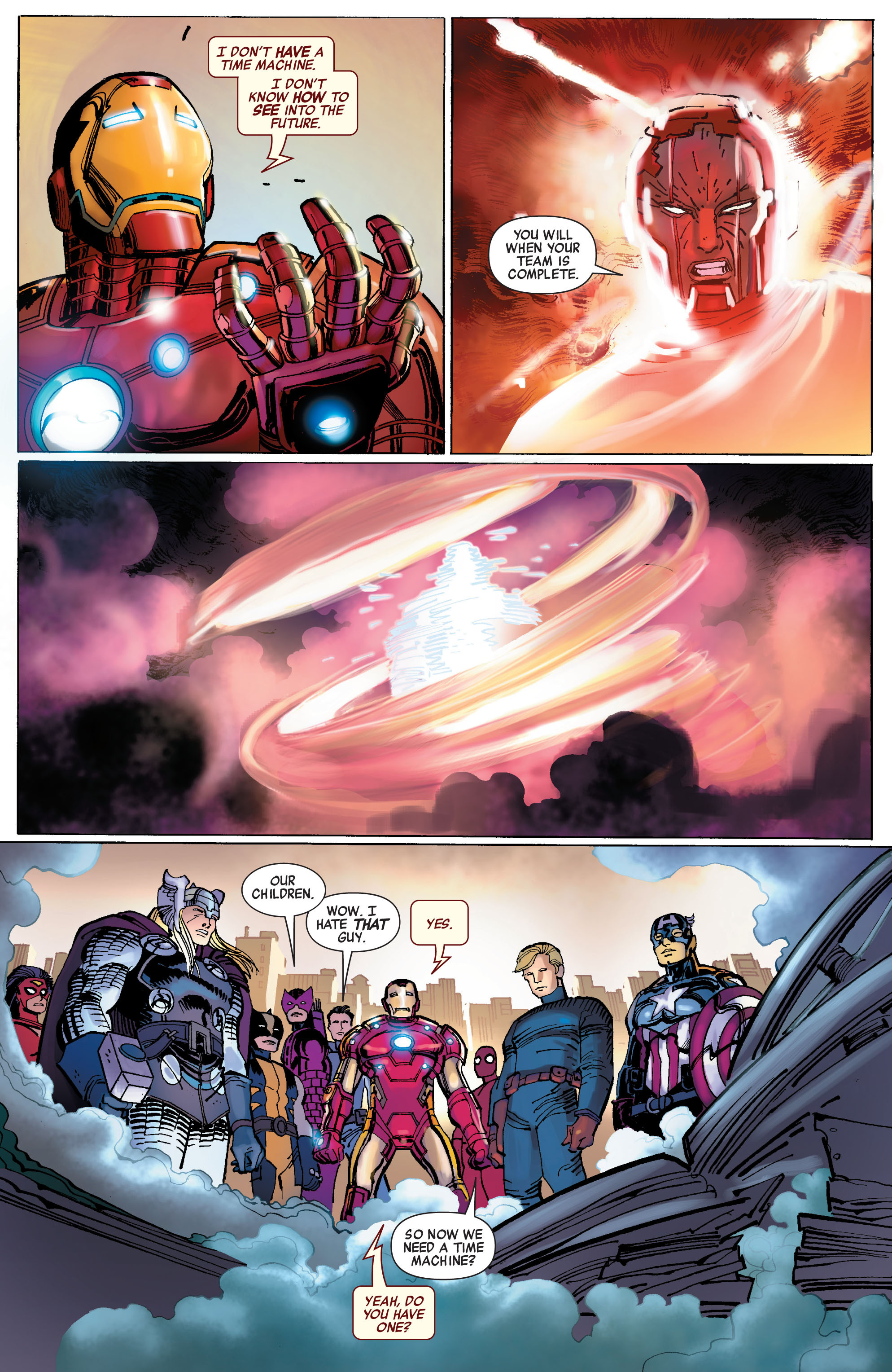 Read online Avengers (2010) comic -  Issue #1 - 19
