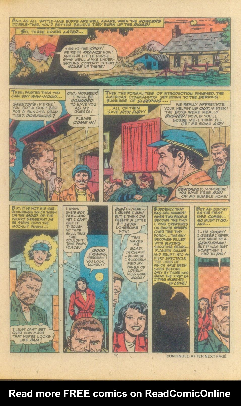 Read online Sgt. Fury comic -  Issue #150 - 19