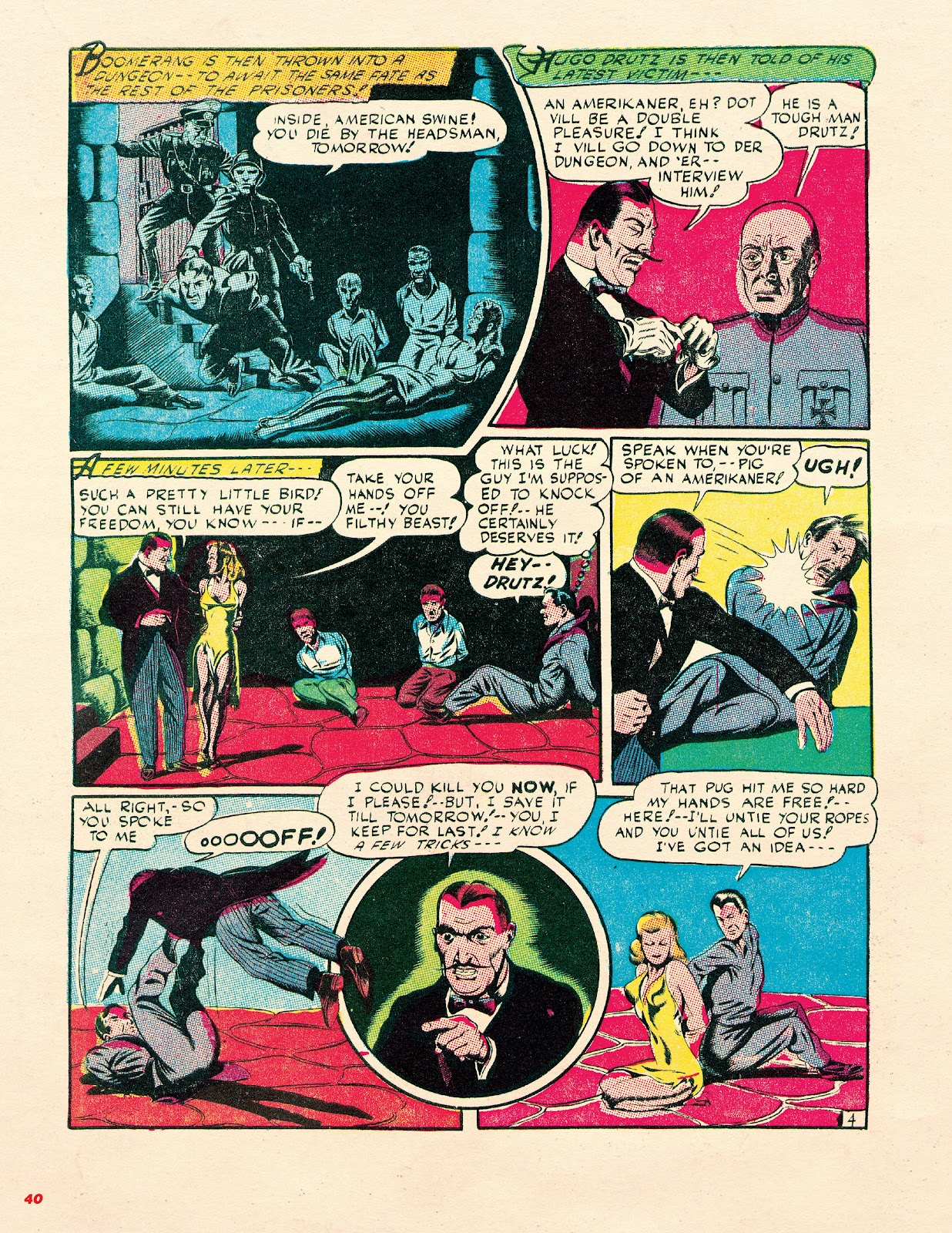 Read online Super Weird Heroes comic -  Issue # TPB 2 (Part 1) - 40