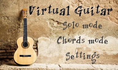 Virtual Guitar android application