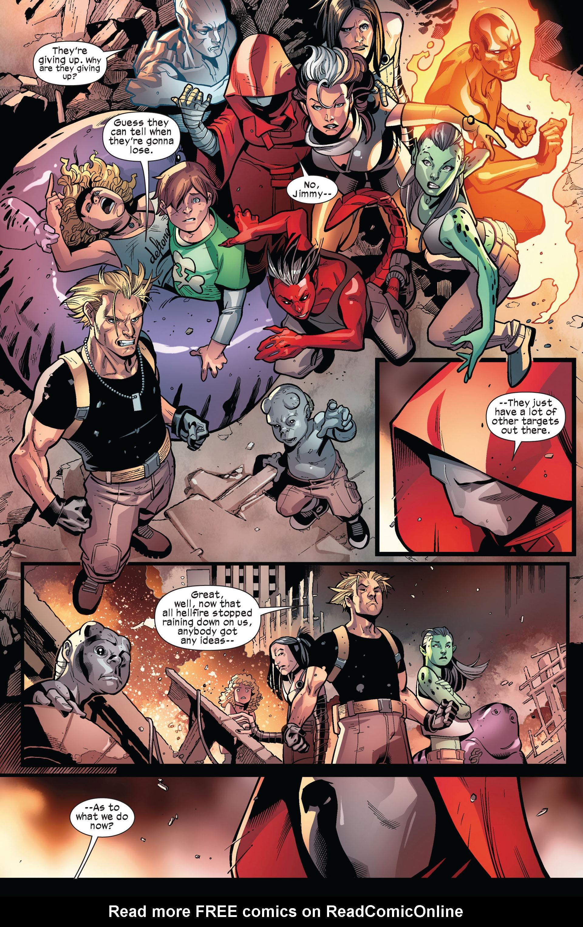 Read online Ultimate Comics X-Men comic -  Issue #6 - 14
