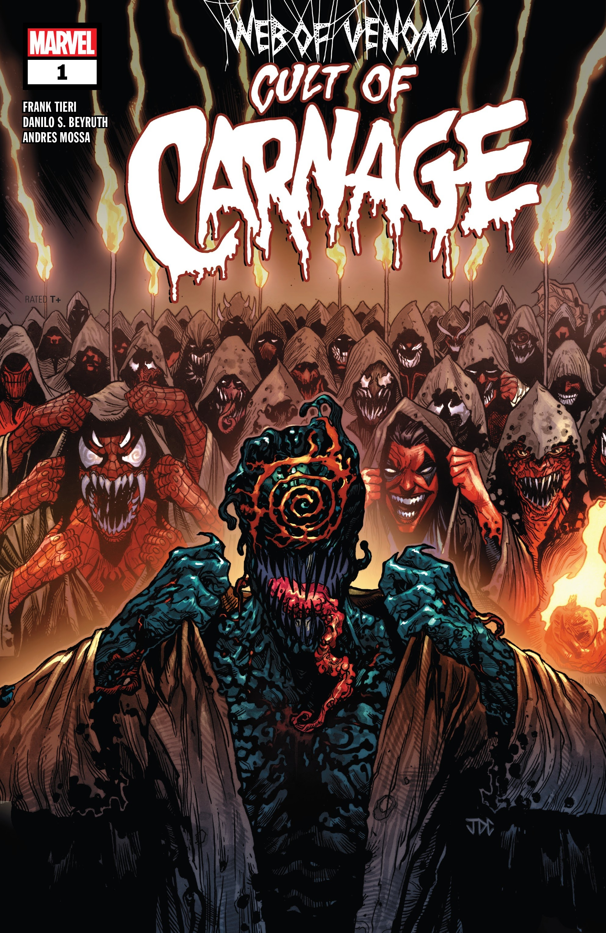 Web of Venom: Cult of Carnage Full Page 1