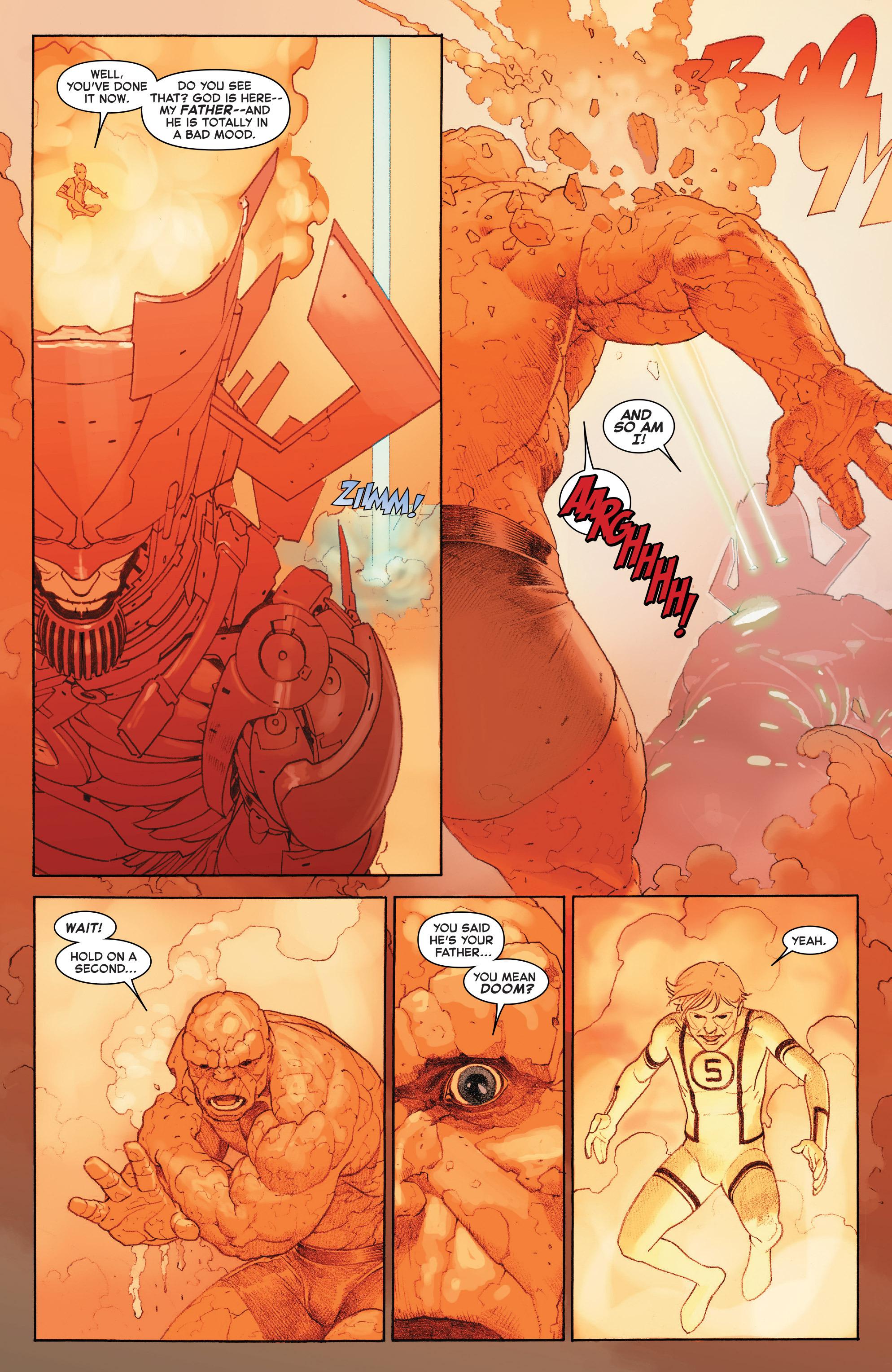 Read online Secret Wars comic -  Issue #8 - 12