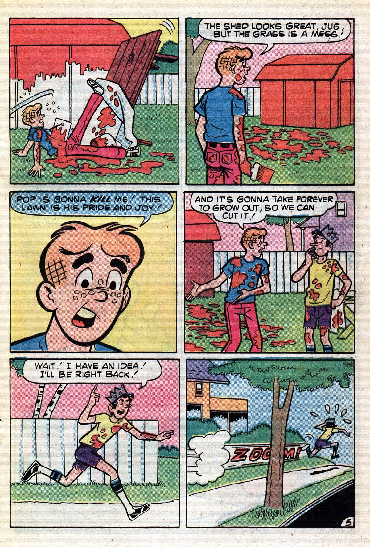 Read online Archie (1960) comic -  Issue #267 - 17