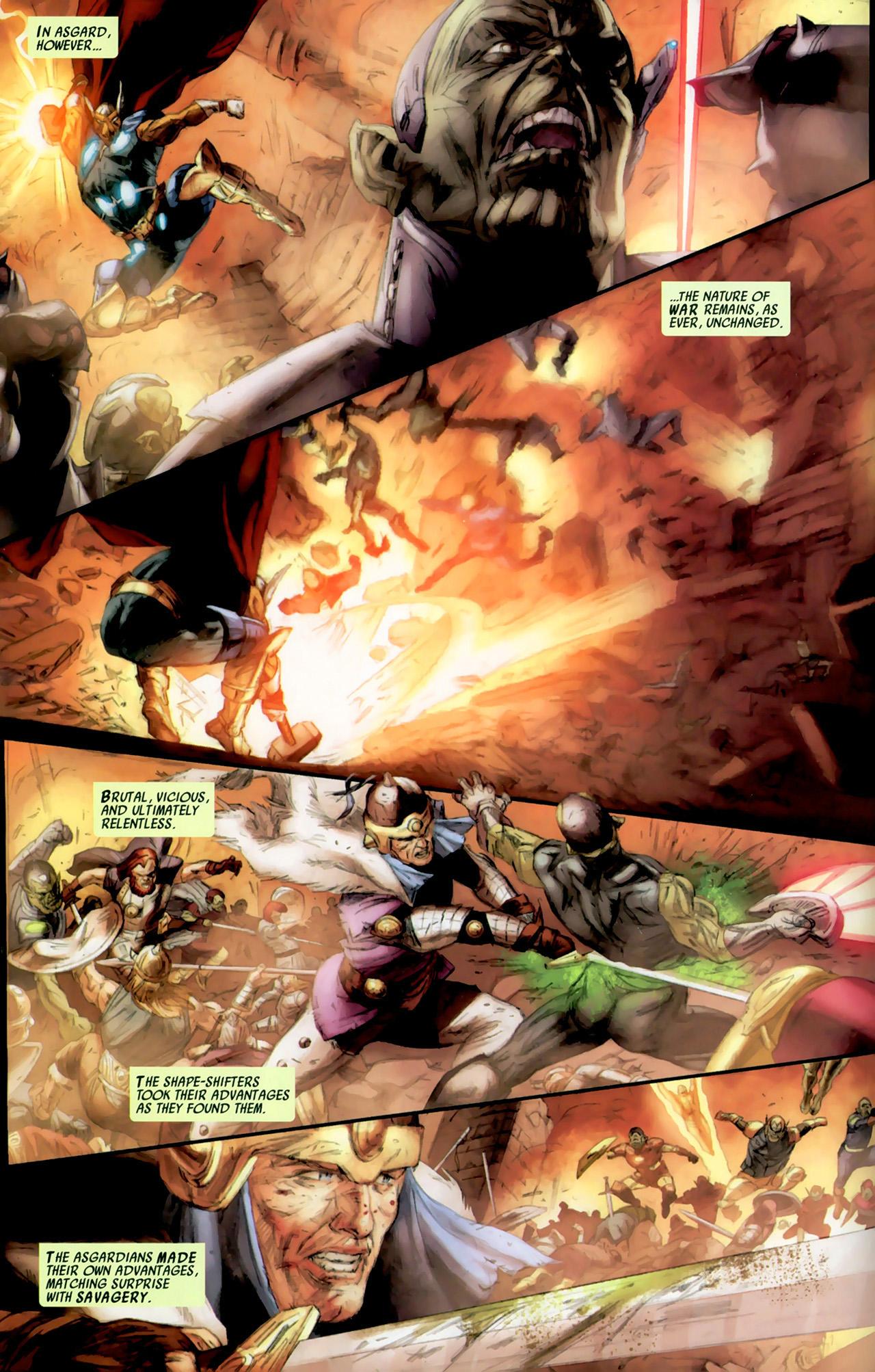 Read online Secret Invasion: Thor comic -  Issue #2 - 8