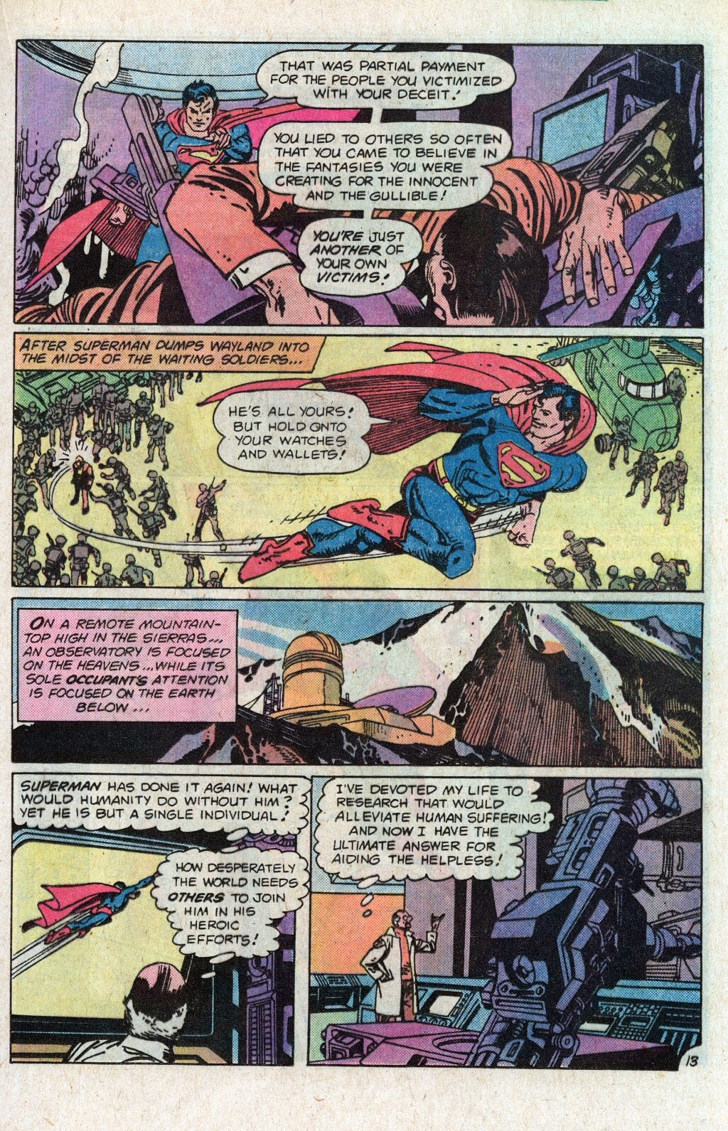 Read online Superman Special (1983) comic -  Issue #1 - 17