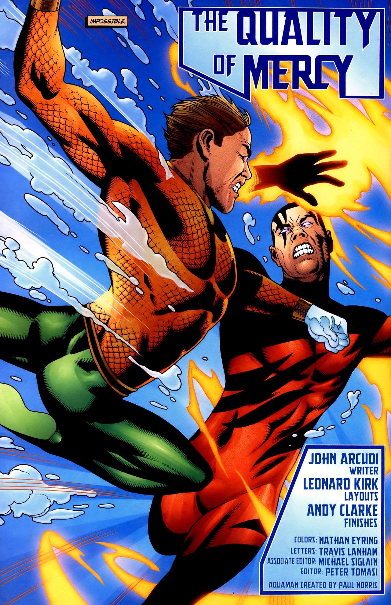 Read online Aquaman (2003) comic -  Issue #34 - 3