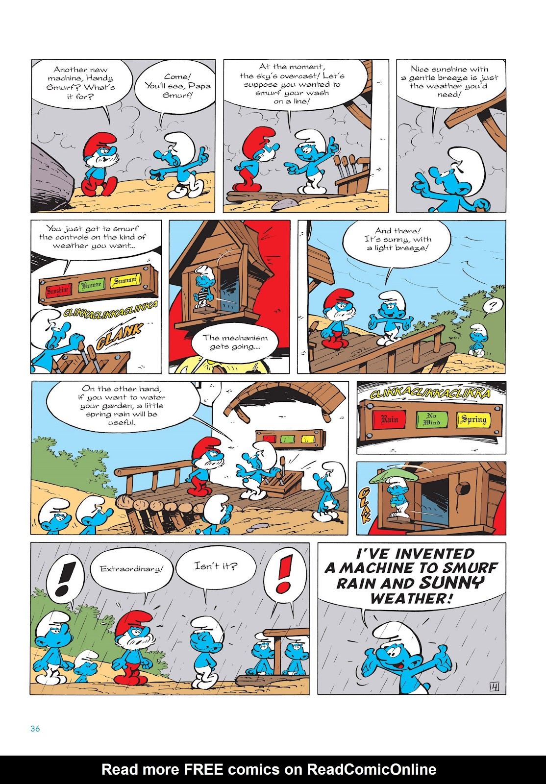 Read online The Smurfs comic -  Issue #14 - 37