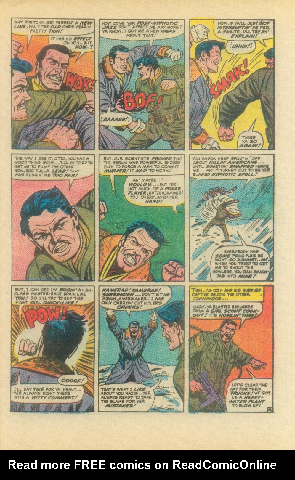Read online Sgt. Fury comic -  Issue #93 - 29